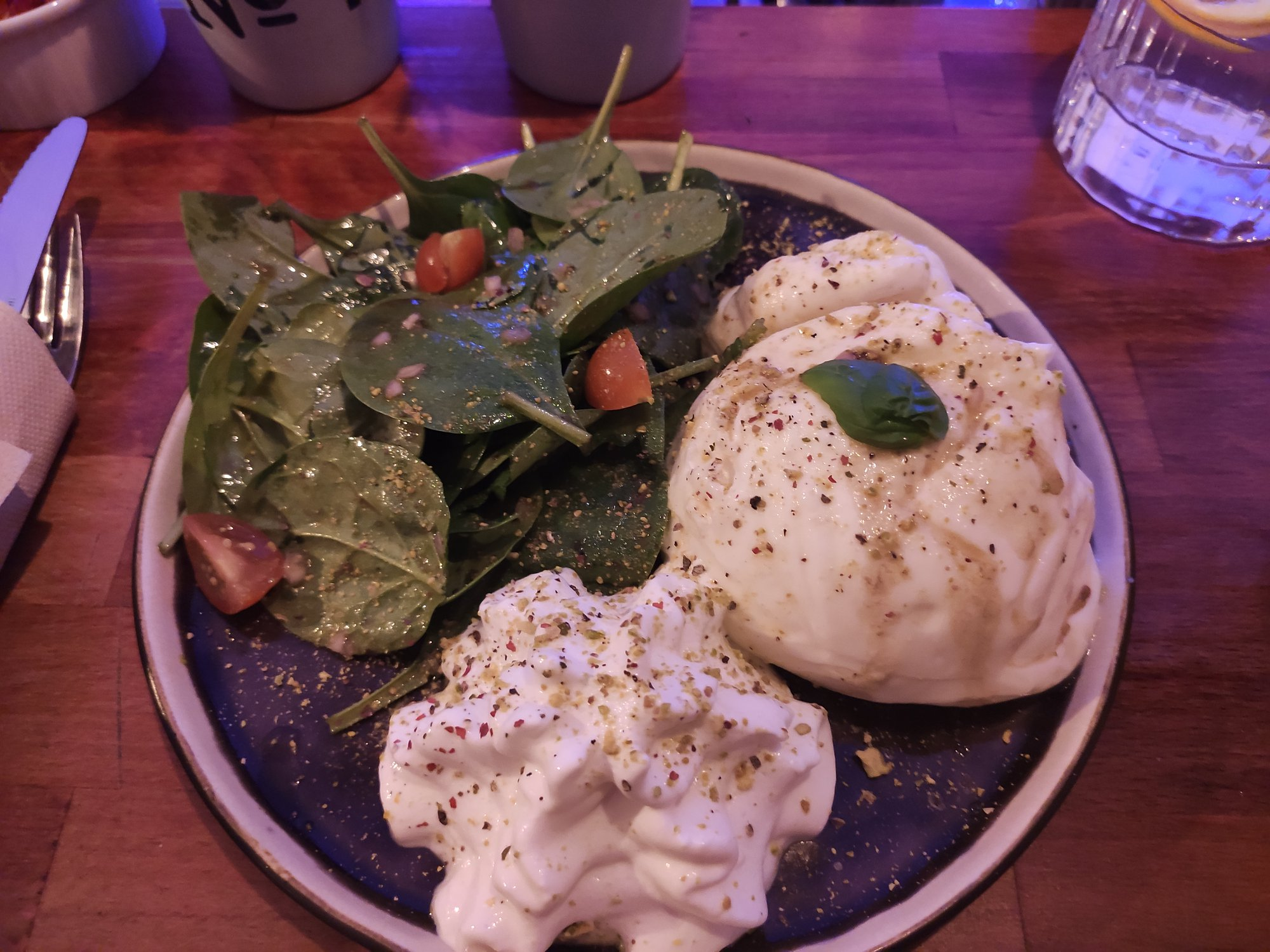 Bar House Garden Paris - Burrata