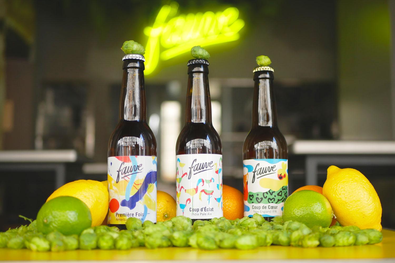 Fauve Craft Bière - Les Cuves de Fauve - Bières bouteille