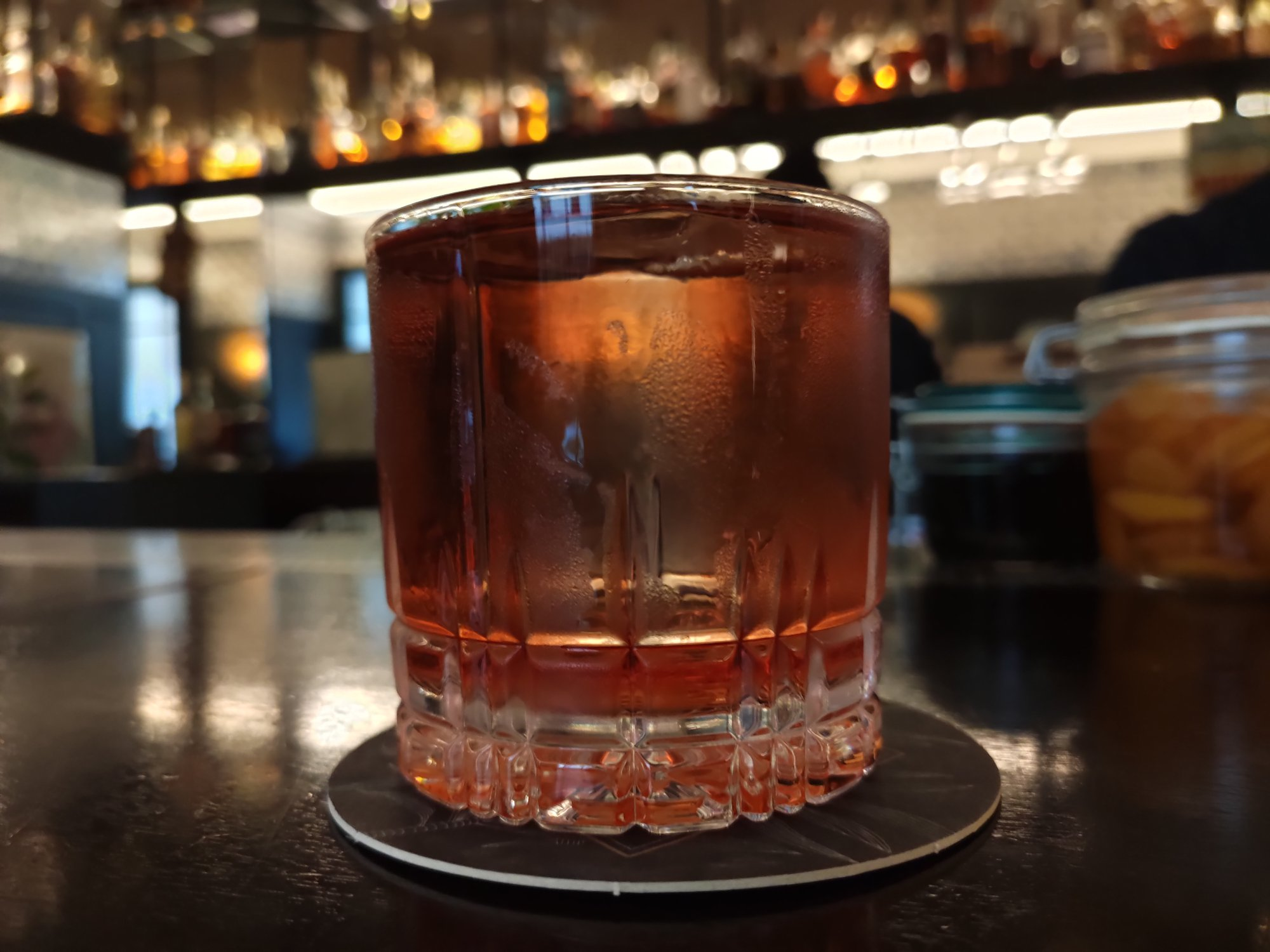 Negroni - Bar Le 1802 à Paris (rhum)