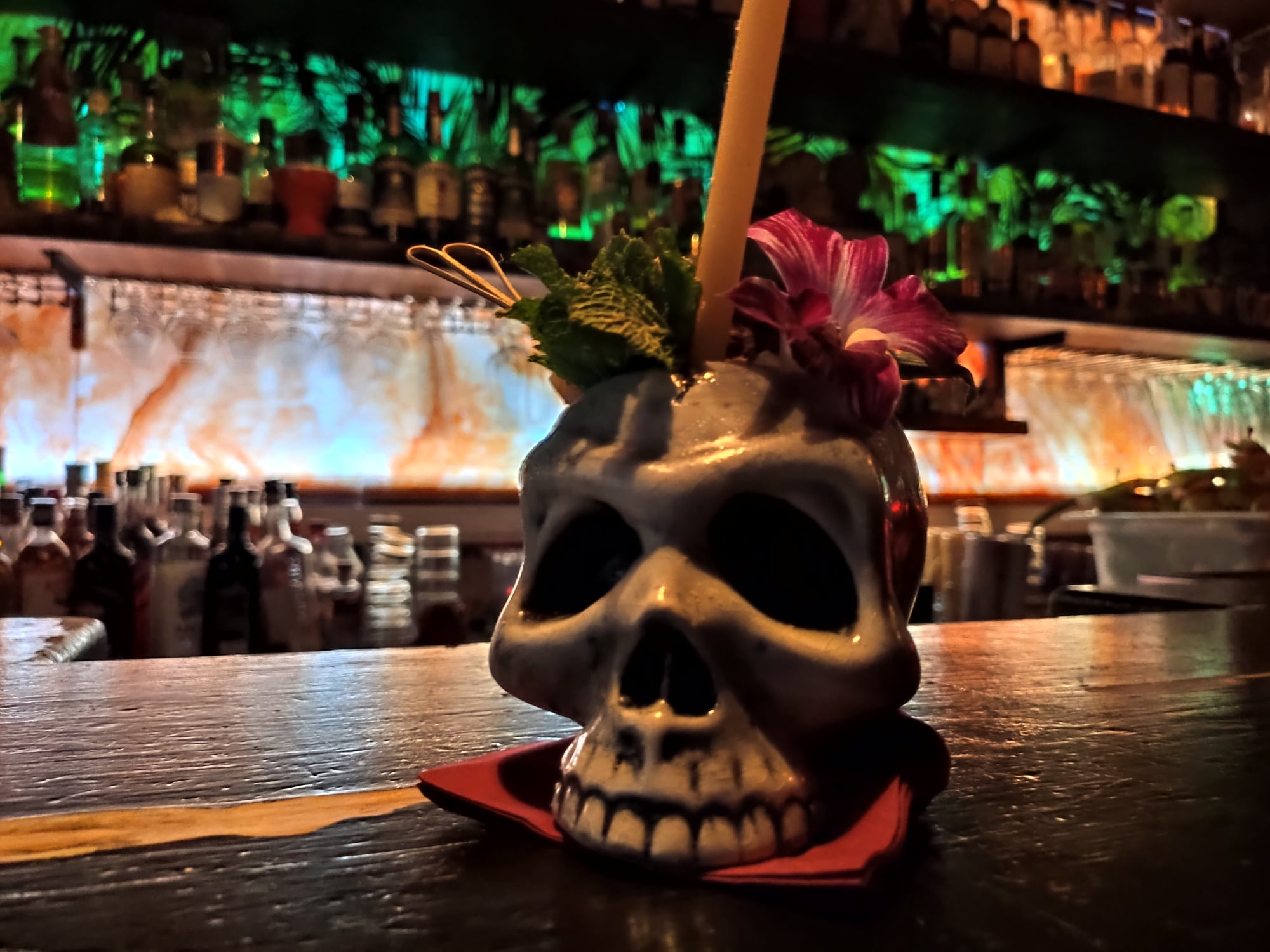 Remède polynésien - Cocktail Tiki - Dirty Dick (Paris)