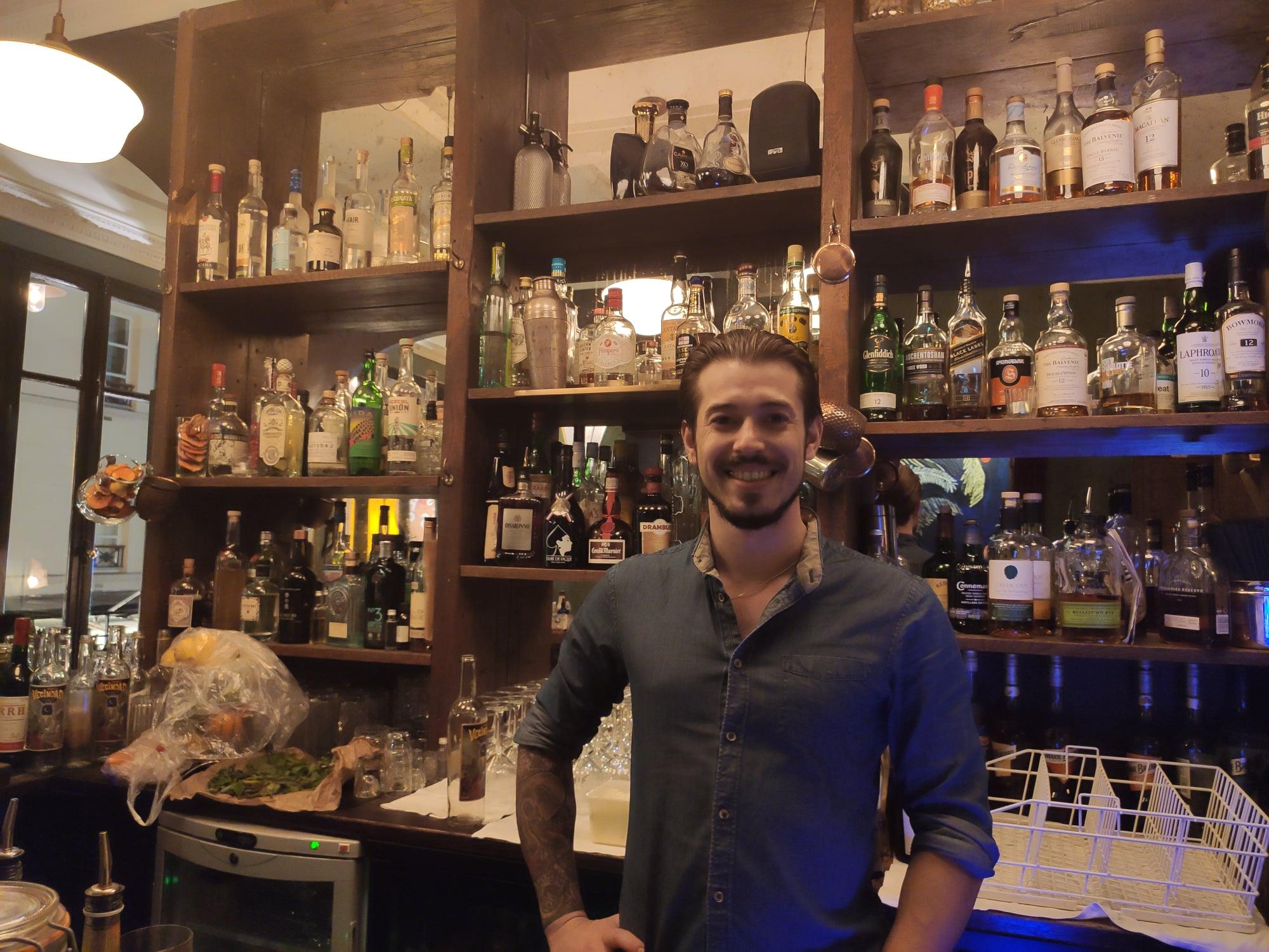 Jeffrey Plagnes - Le 1905 - Bar à cocktails Paris