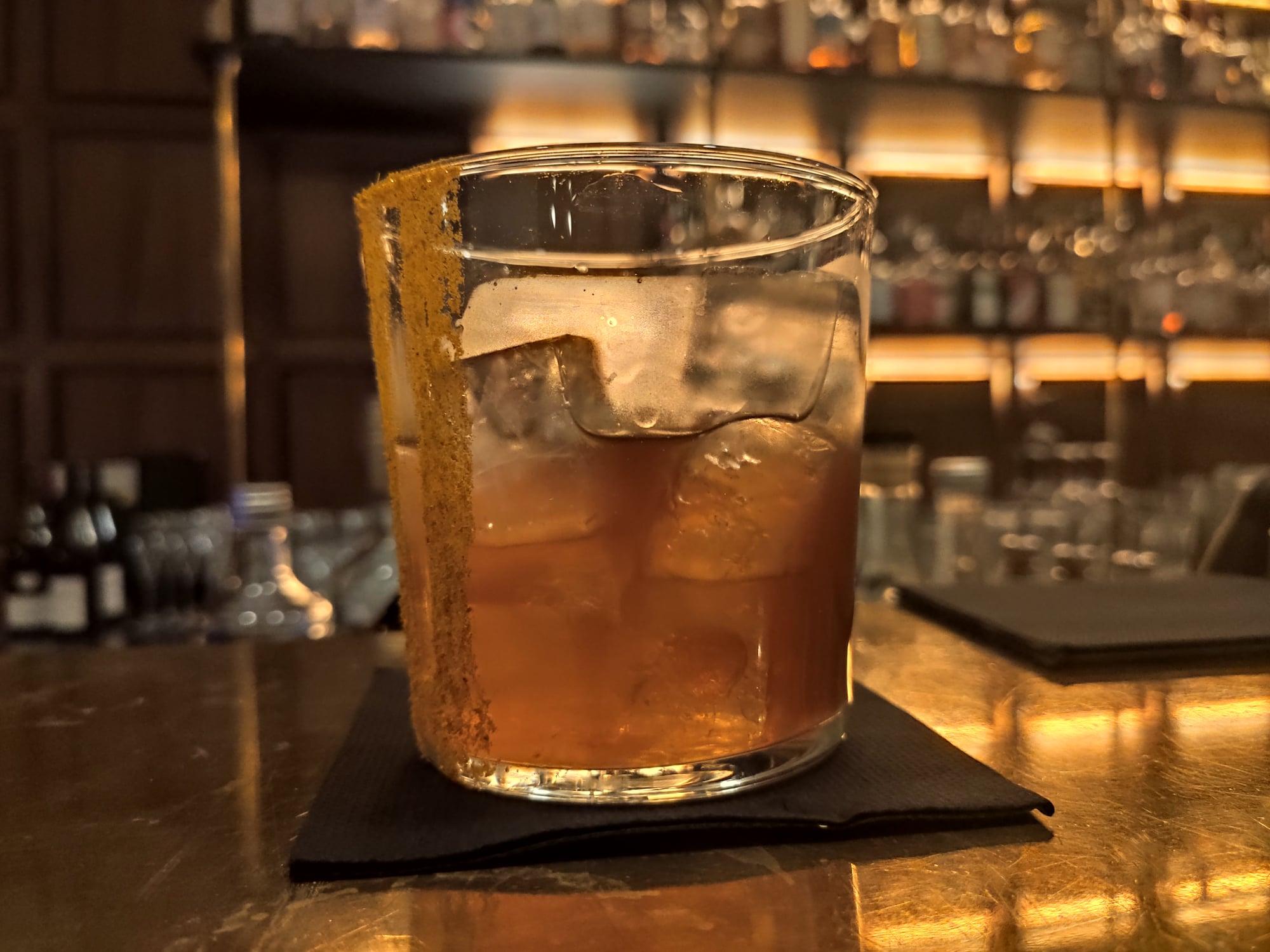 Cocktail Tajine des fins bois - Les Passerelles, bar, Paris
