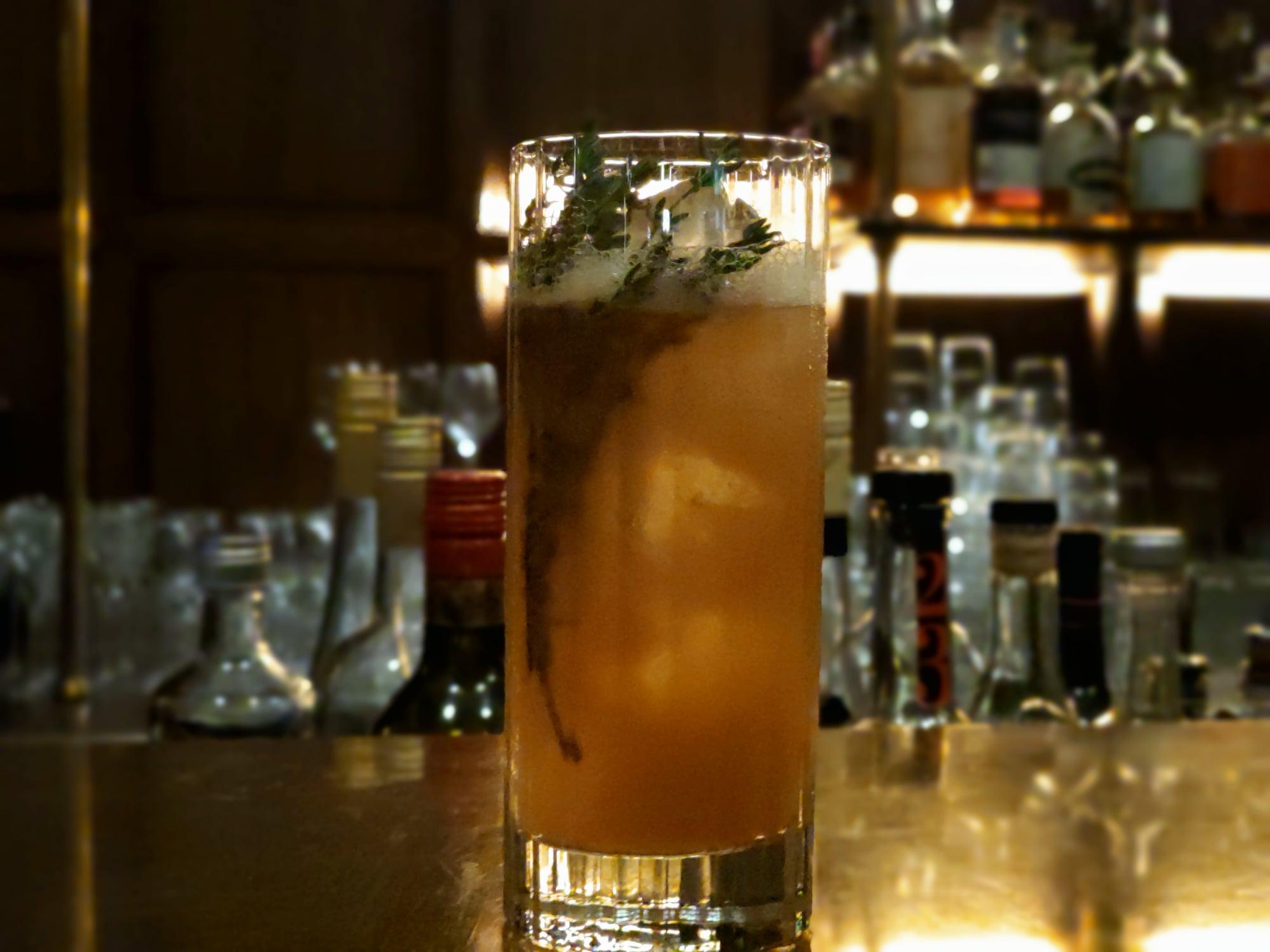 Cocktail sans alcool Magnolia - Les Passerelles, Paris