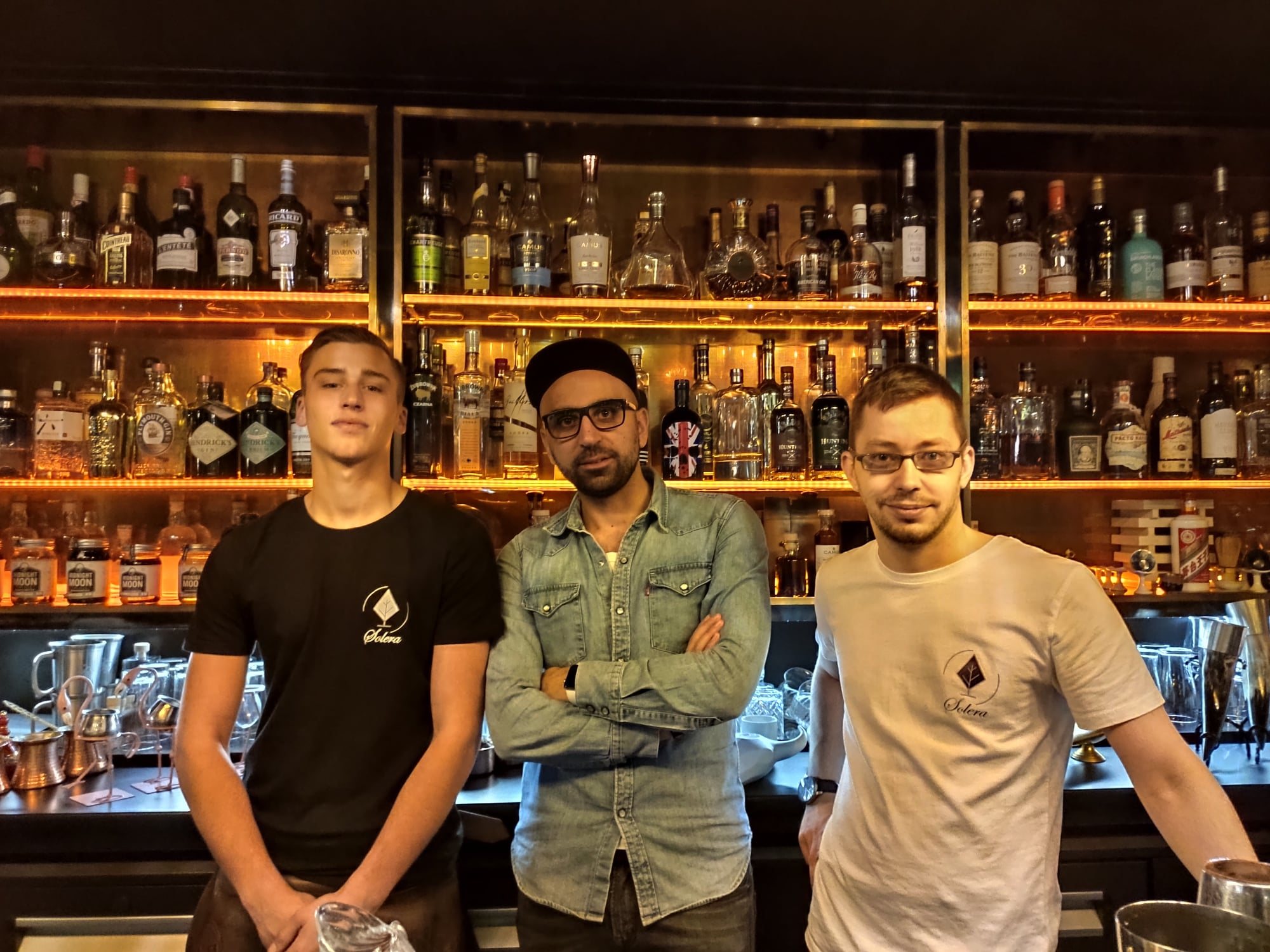 Christopher Gaglione et Stanislas Somma - Bar à cocktails Solera à Paris