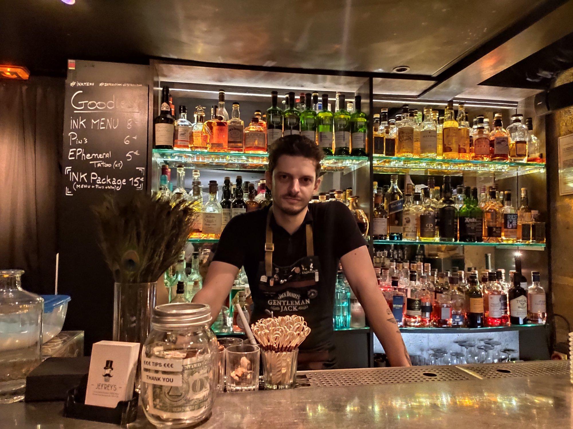 Benjamin Nolf - Chef barman - Jefrey's, Paris