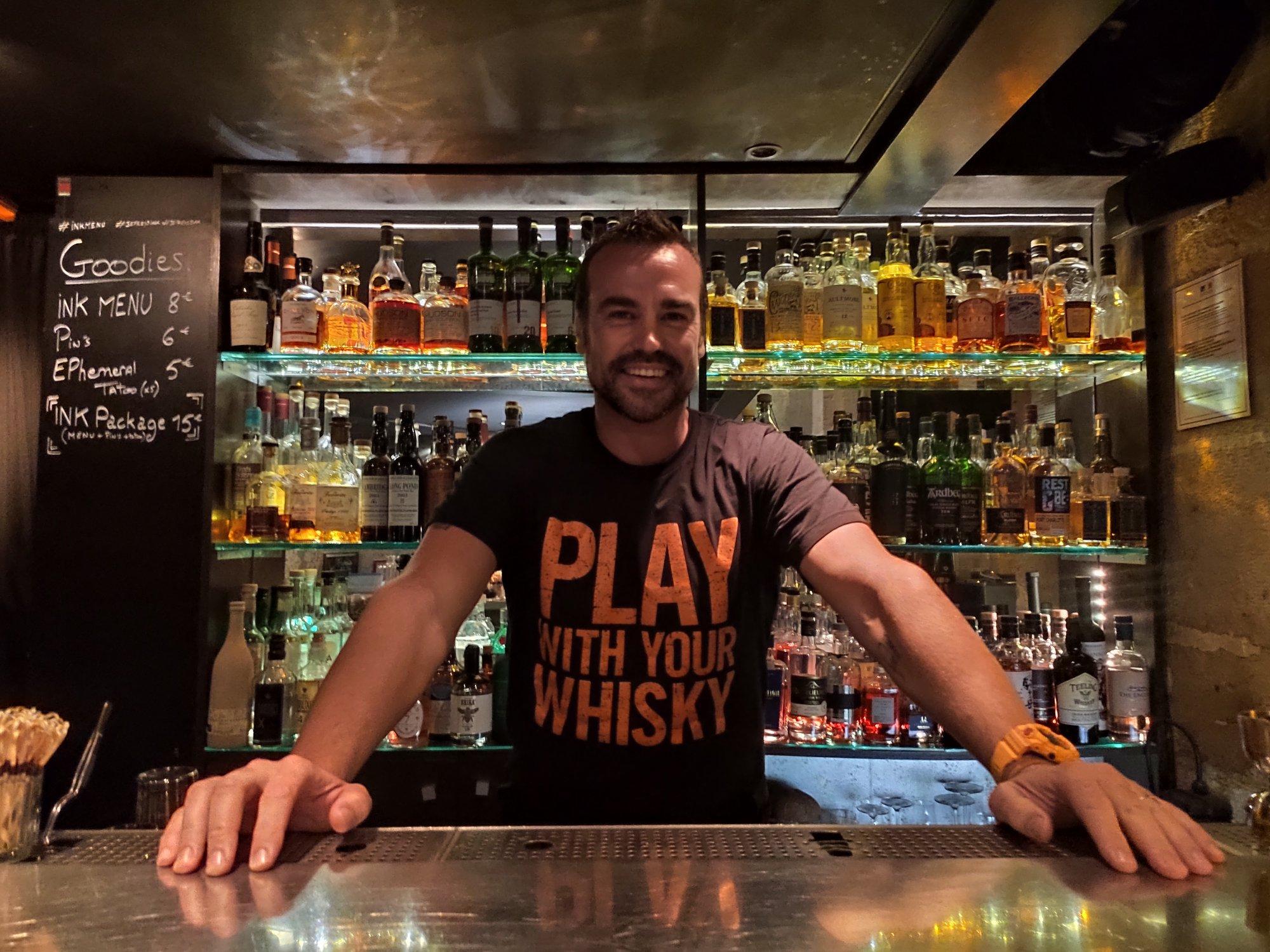 Tim Ward, brand ambassador du whisky Monkey Shoulder