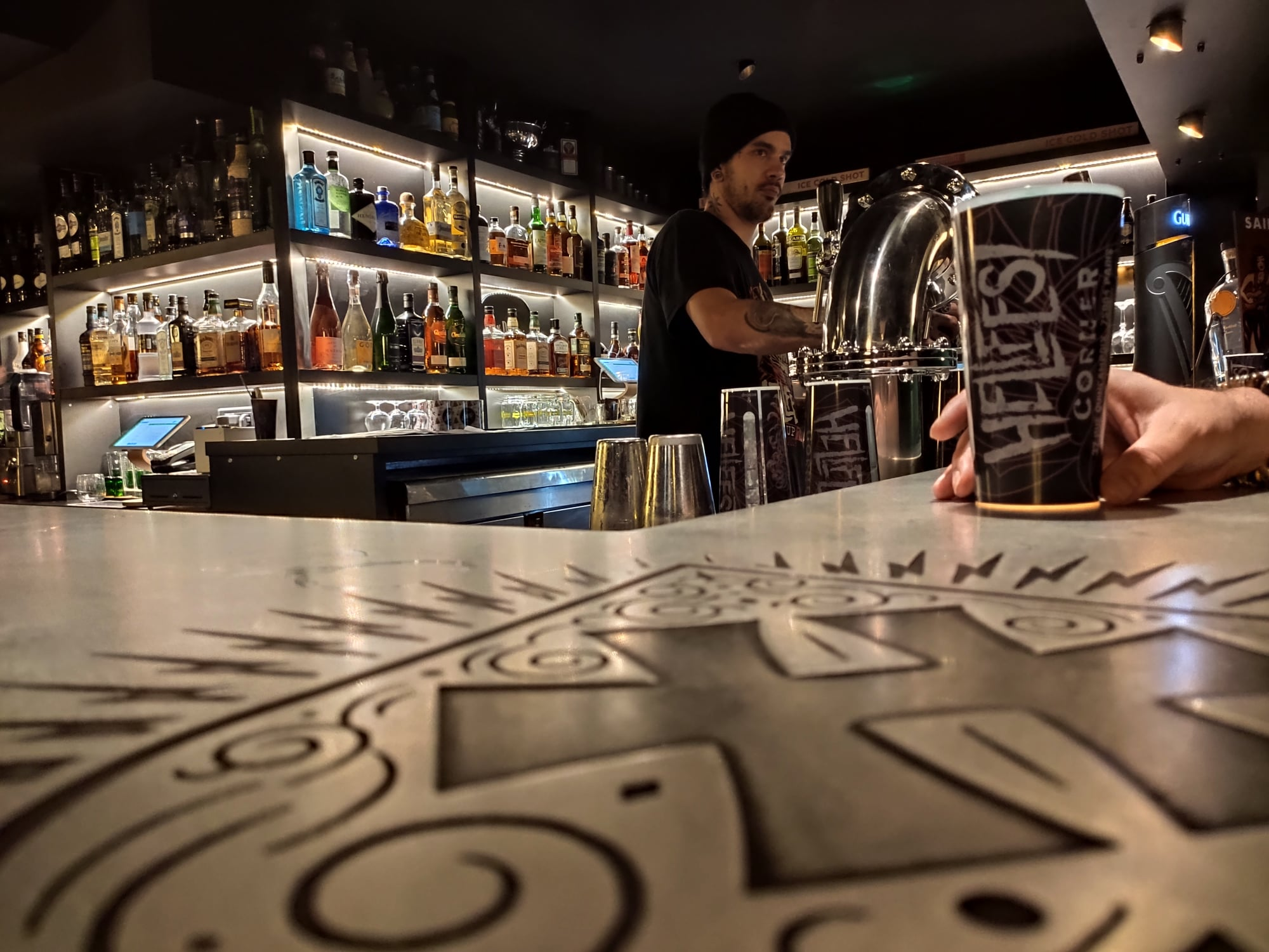 Bar du Hellfest Corner - Paris