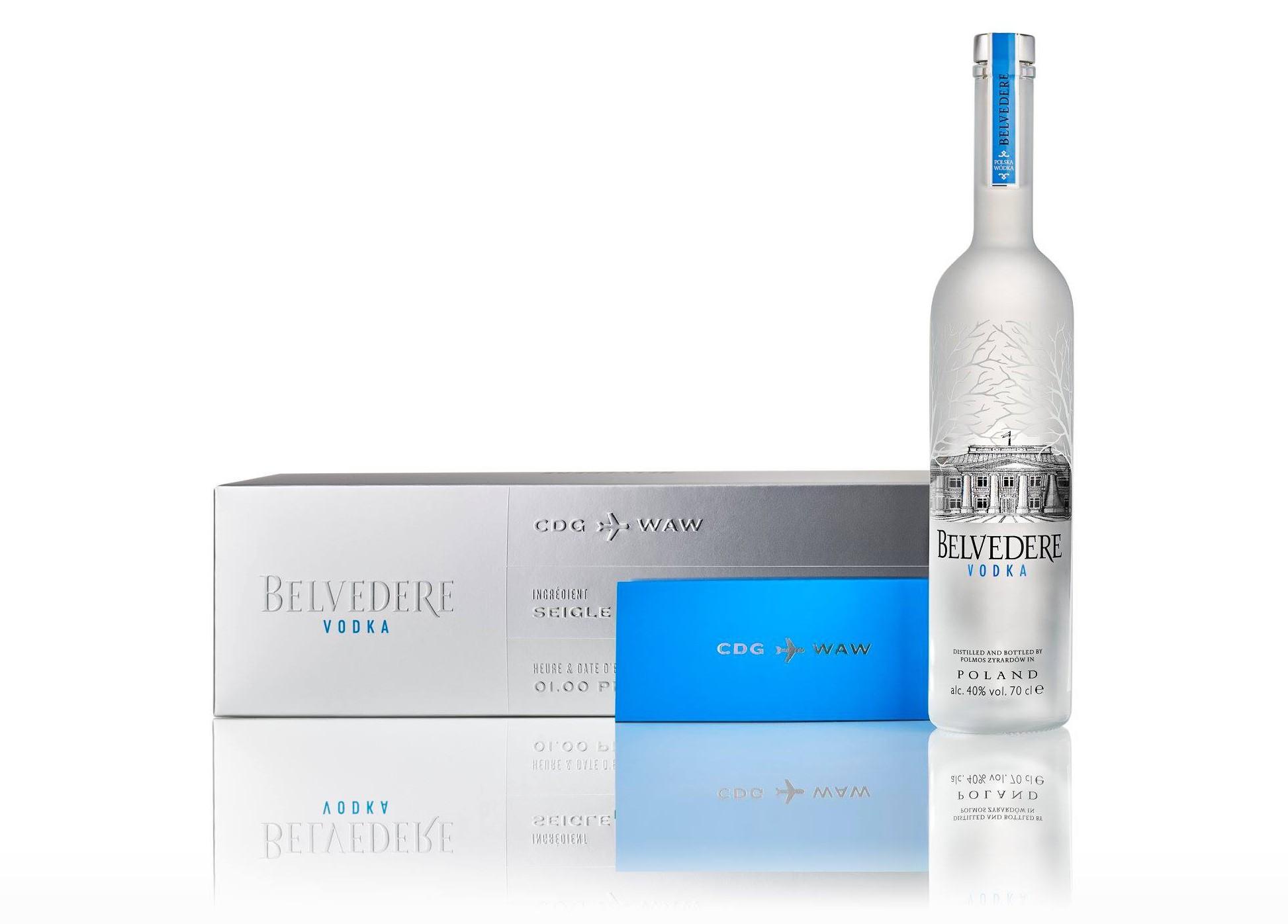 Vodka Belvédère - LVMH - Coffret voyage en Pologne à la Grande Epicerie de Paris