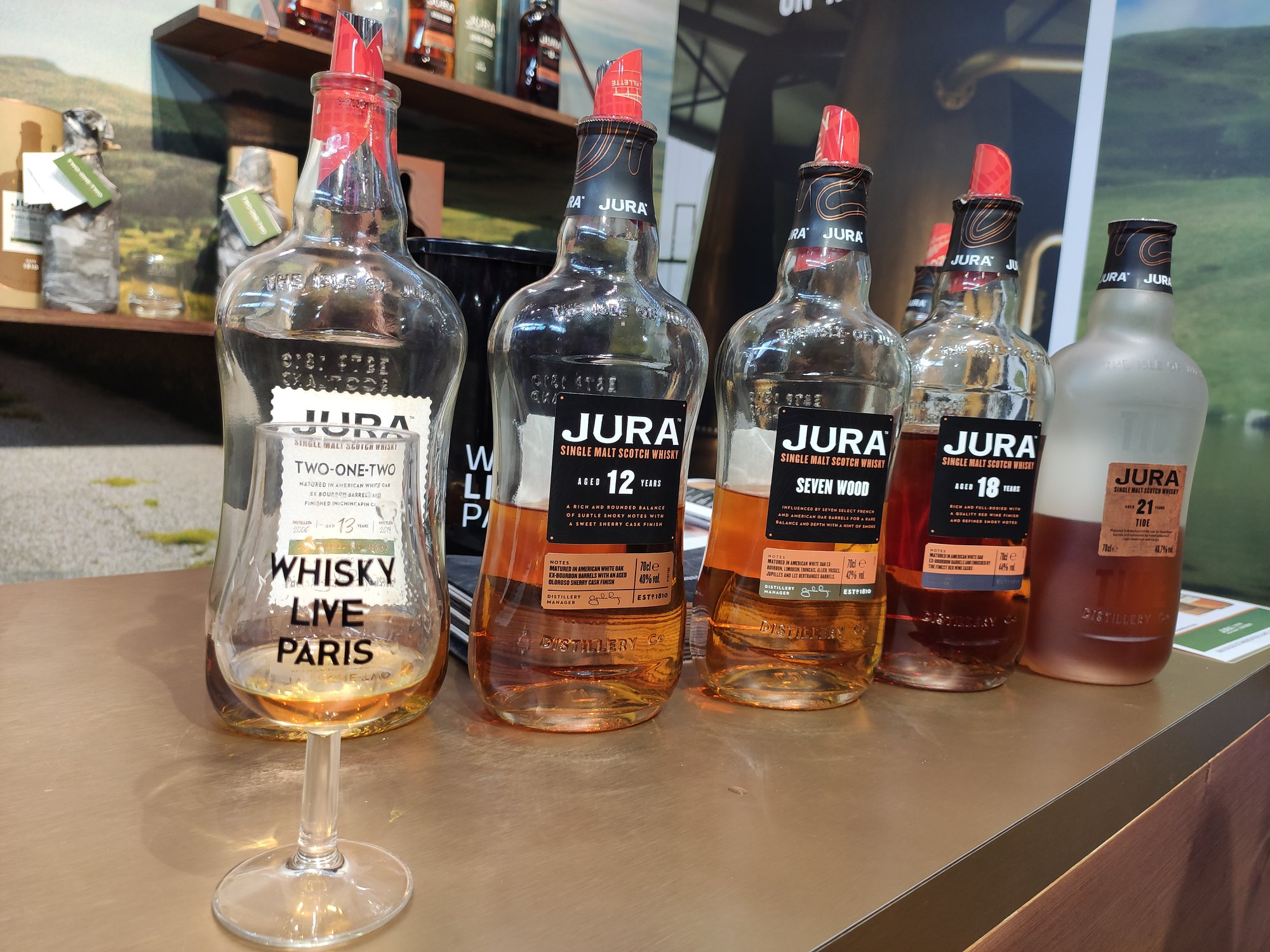 Jura Two One Two - Whisky Live Paris 2019