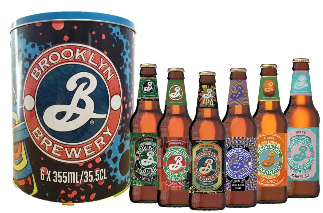Bucket Brooklyn Brewery - Carrefour - Noel 2019