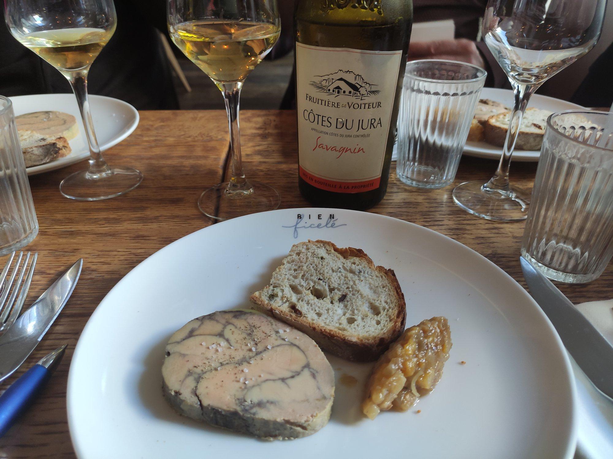 Foie gras de canard - Restaurant Bien élevé à Paris