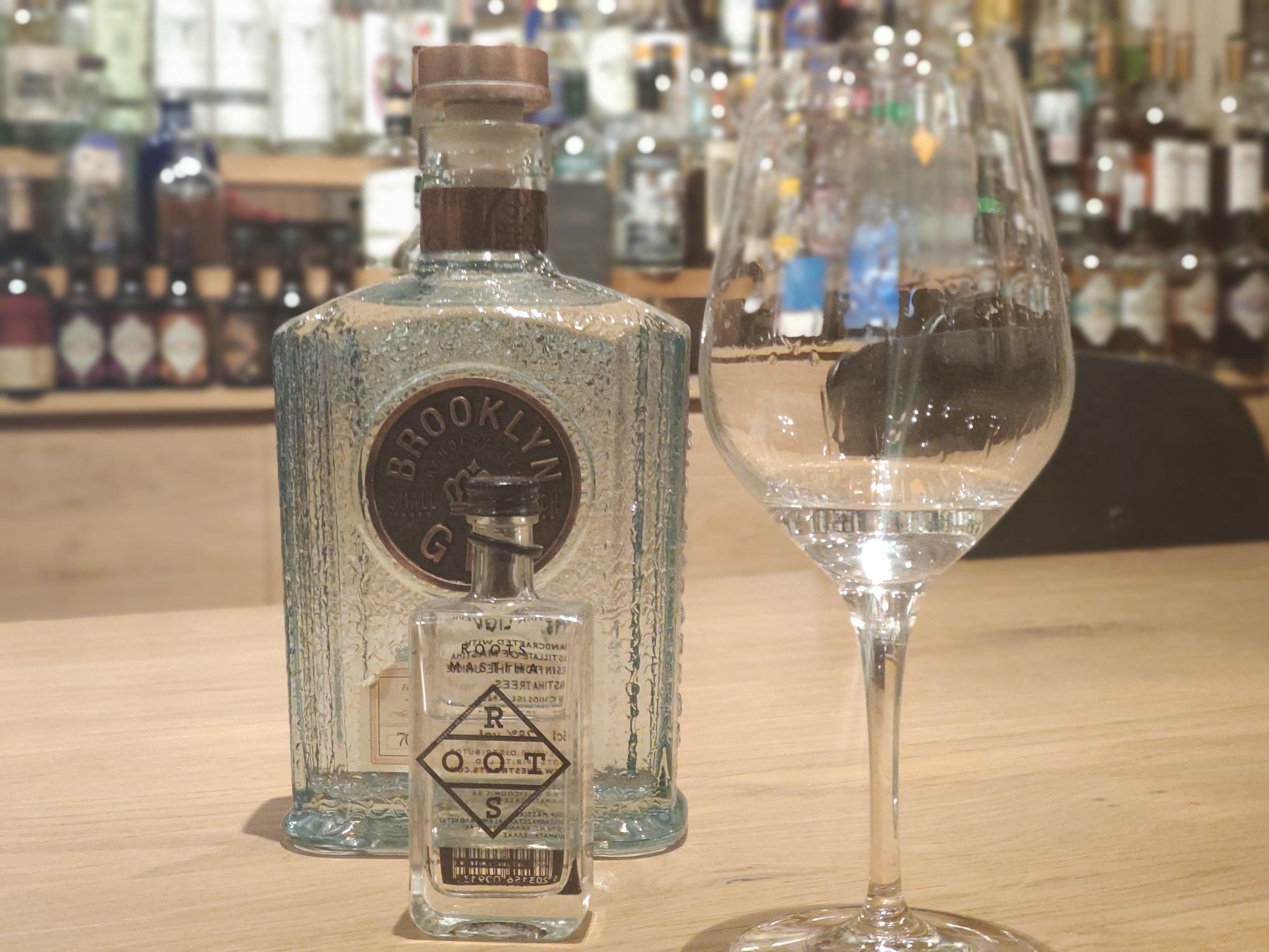 Brooklyn gin et liqueur Roots - Vintage Spirit Garage