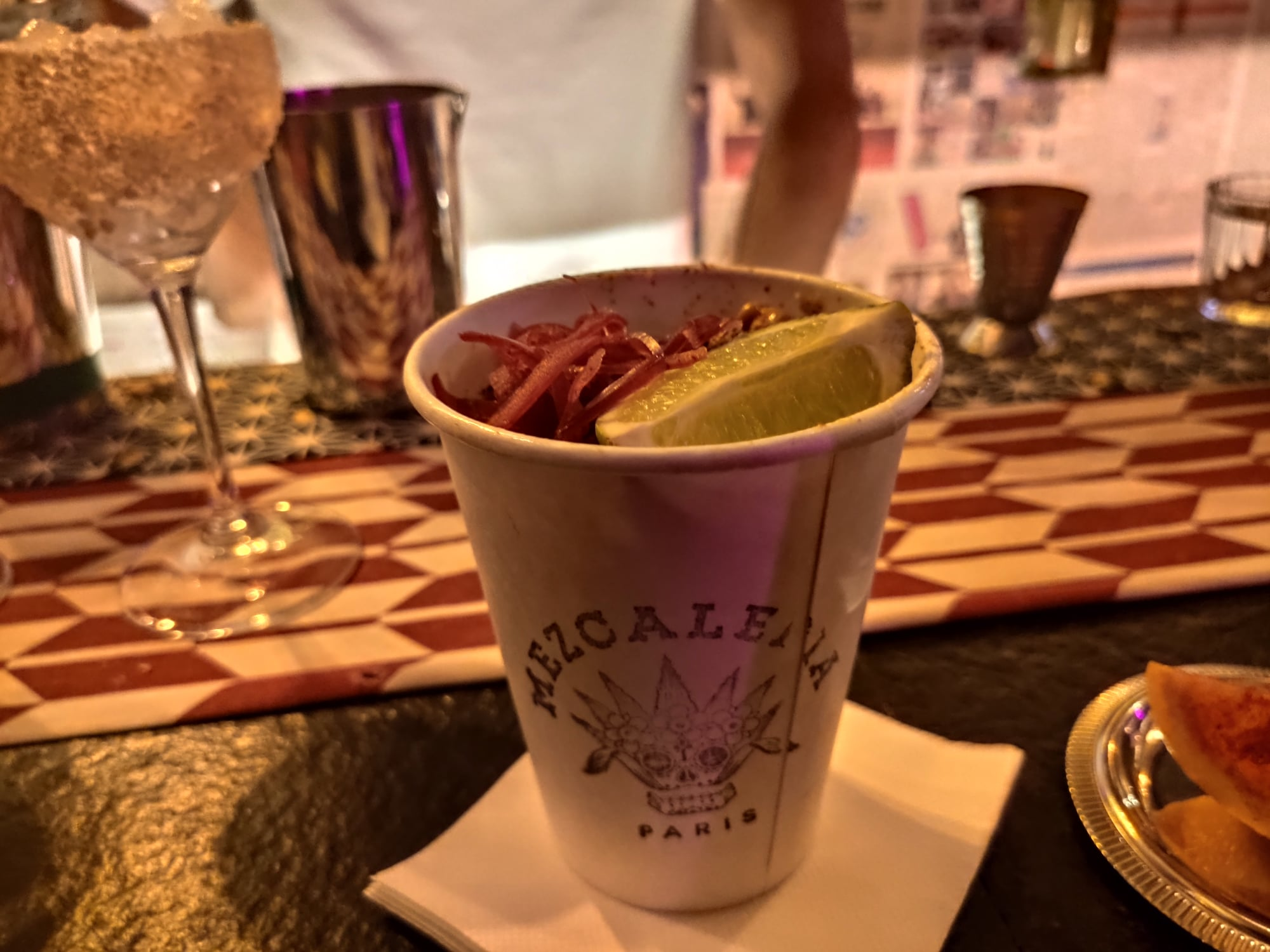 Esquites - Mexical street corn - La Mezcaleria Paris