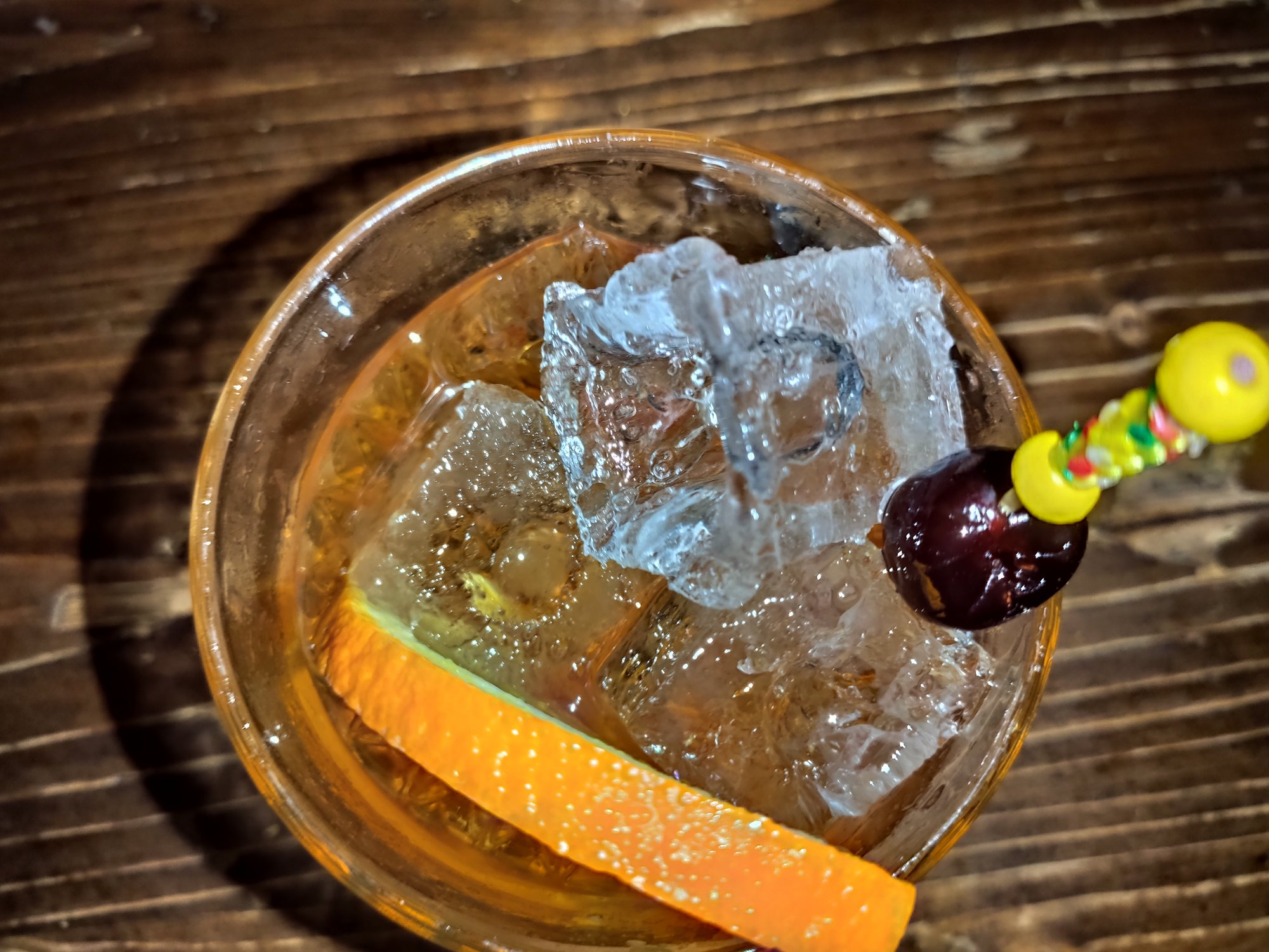 Lazy Old fashioned - Monkey Shoulder - Dirty Dick