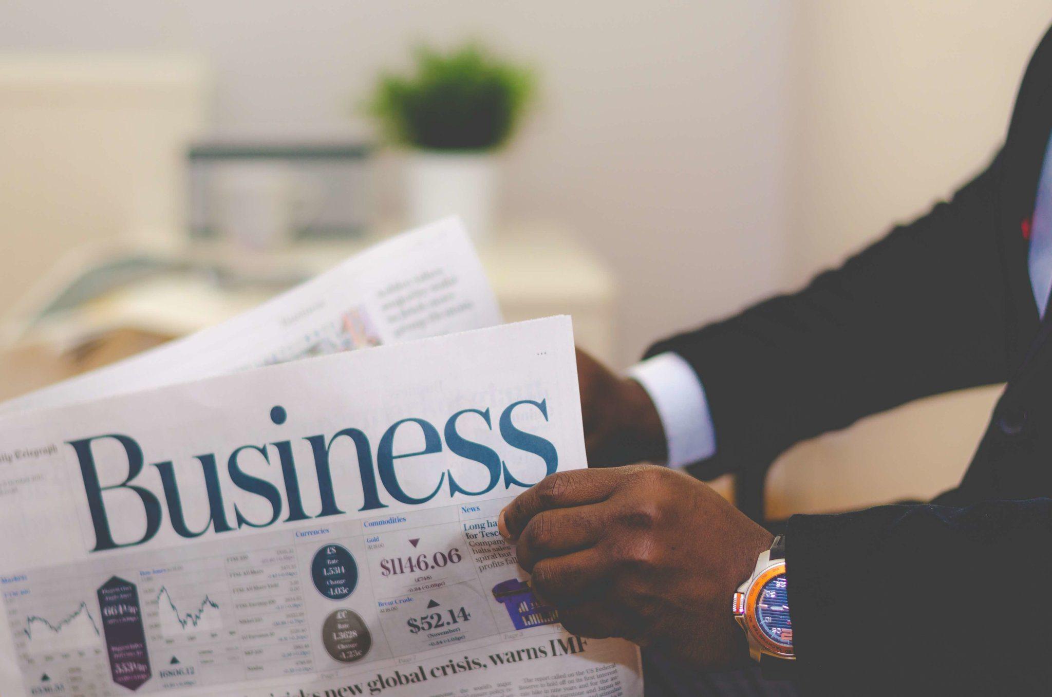 Journal économique business
