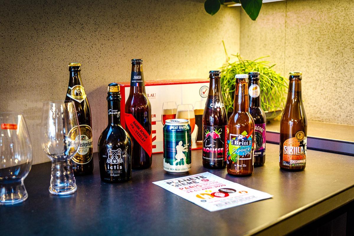 Panel de bières - Planète Bière - Eric Perez