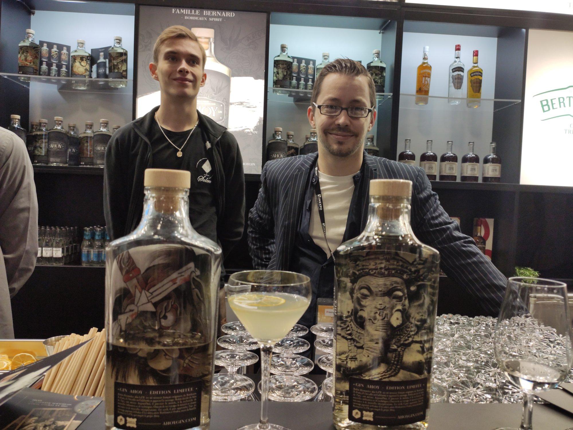 Solera Paris - Aloy Gin - Infinite Bar