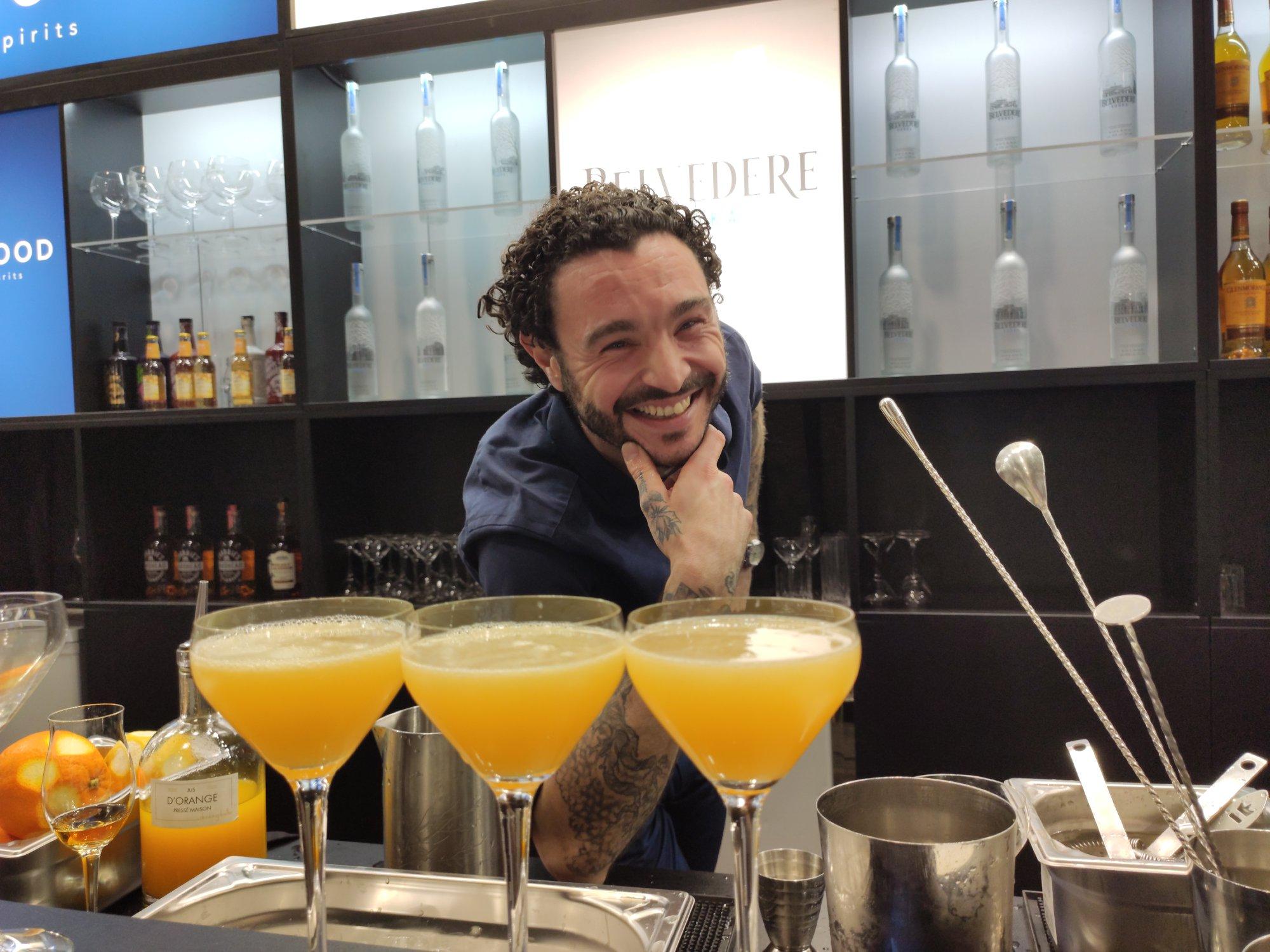 Eliott - Bar Apicius - Infinite Bar