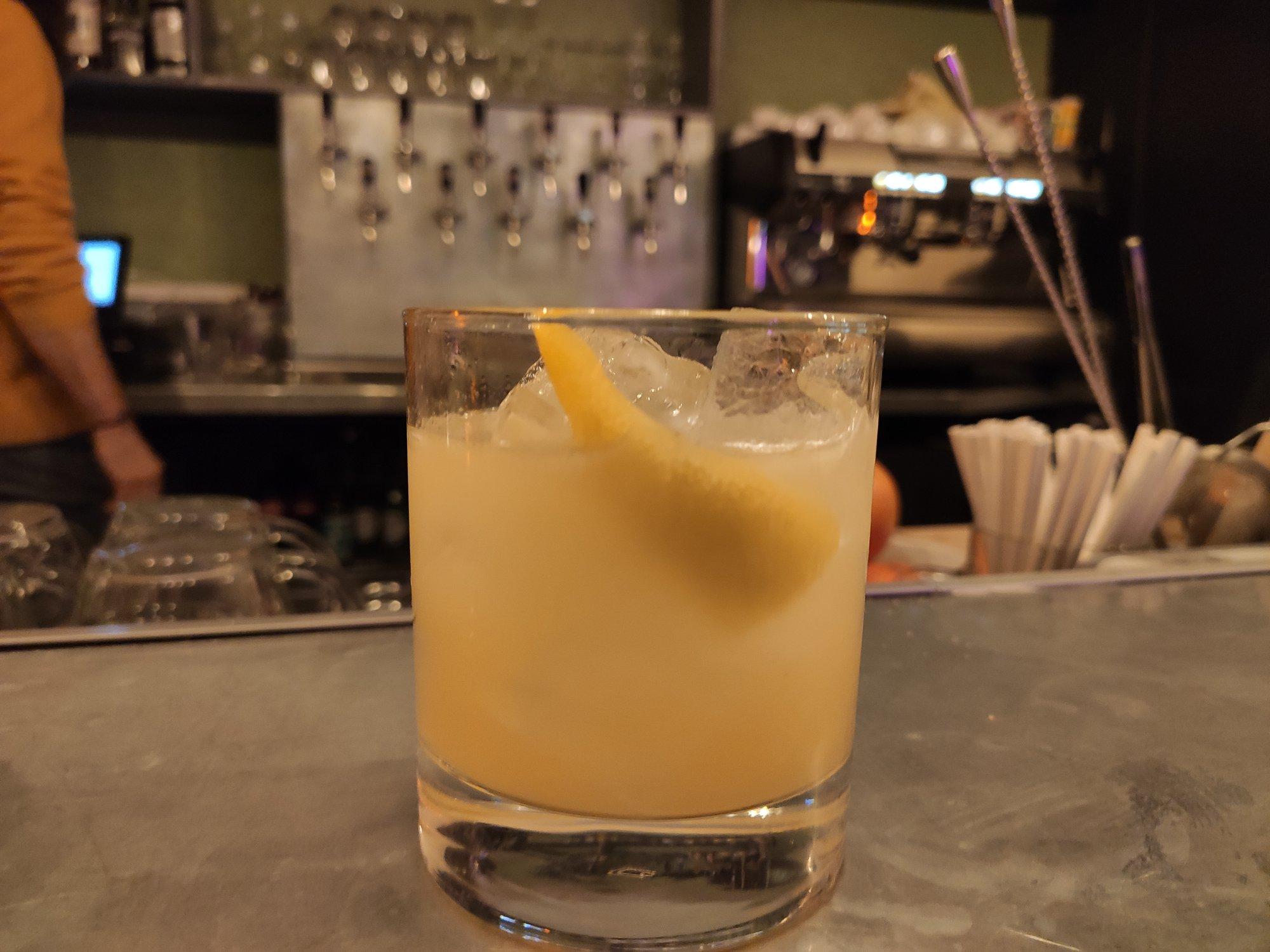 Cocktail - Bar à bières EnKore - Rue Letort - Paris 18ème