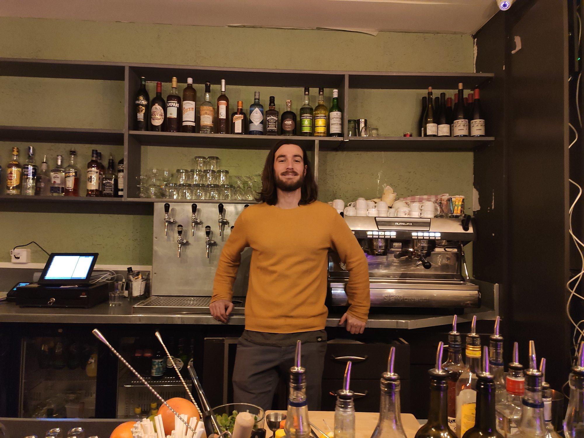 Patrick Moubarek - Bar EnKore - Paris