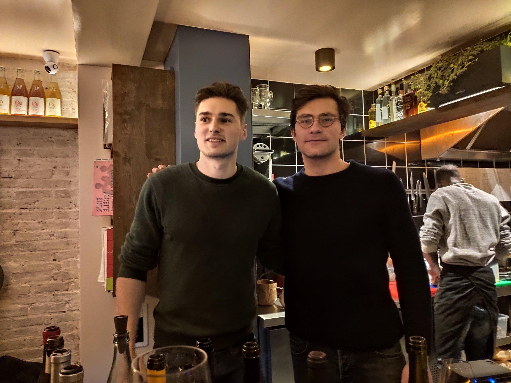 Alexandre Bortenlänger et Louis Bruneteau - Bar à vin Stéréo - Paris