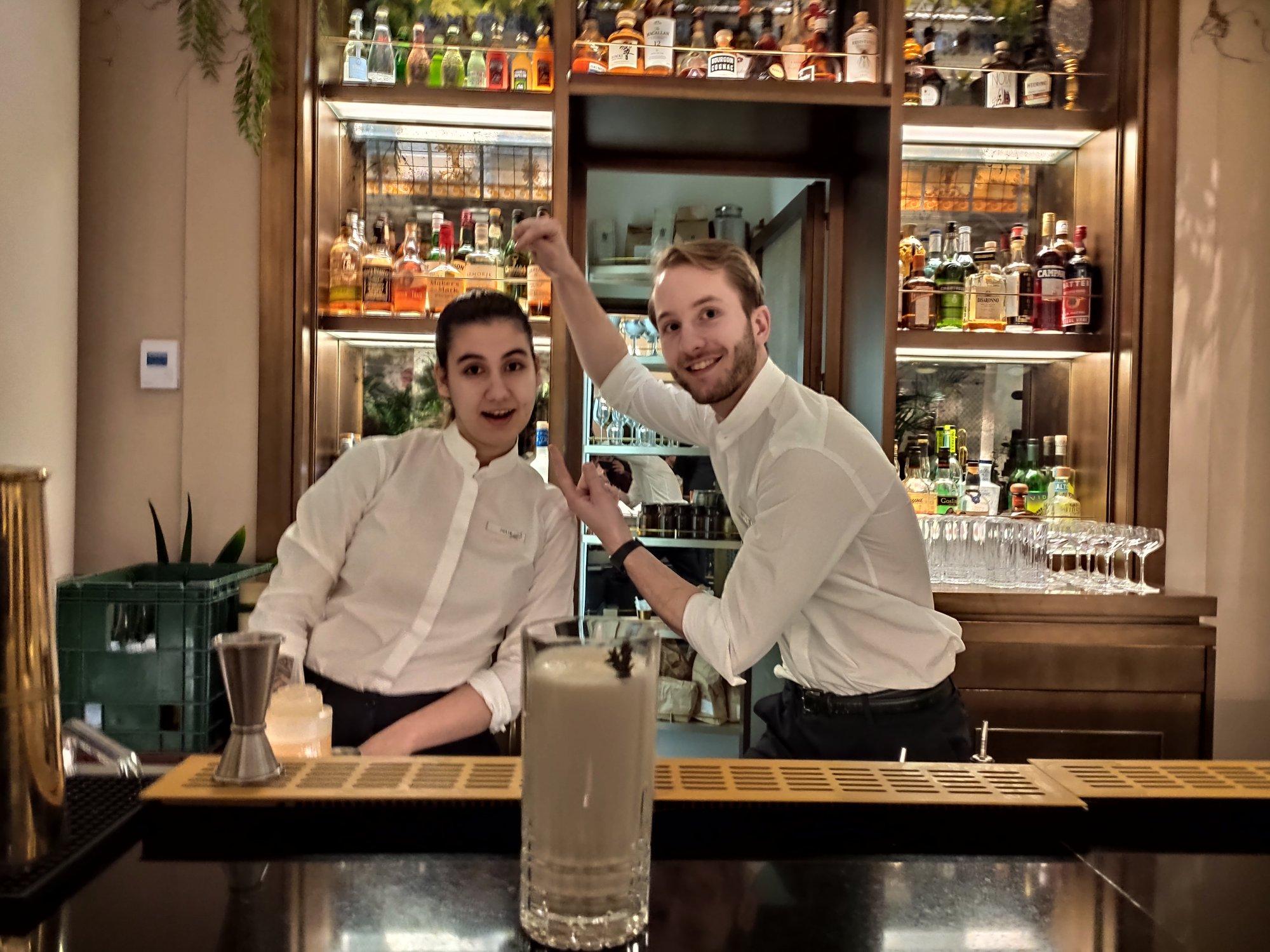 Cocktails au Cognac à l'Officine du Louvre