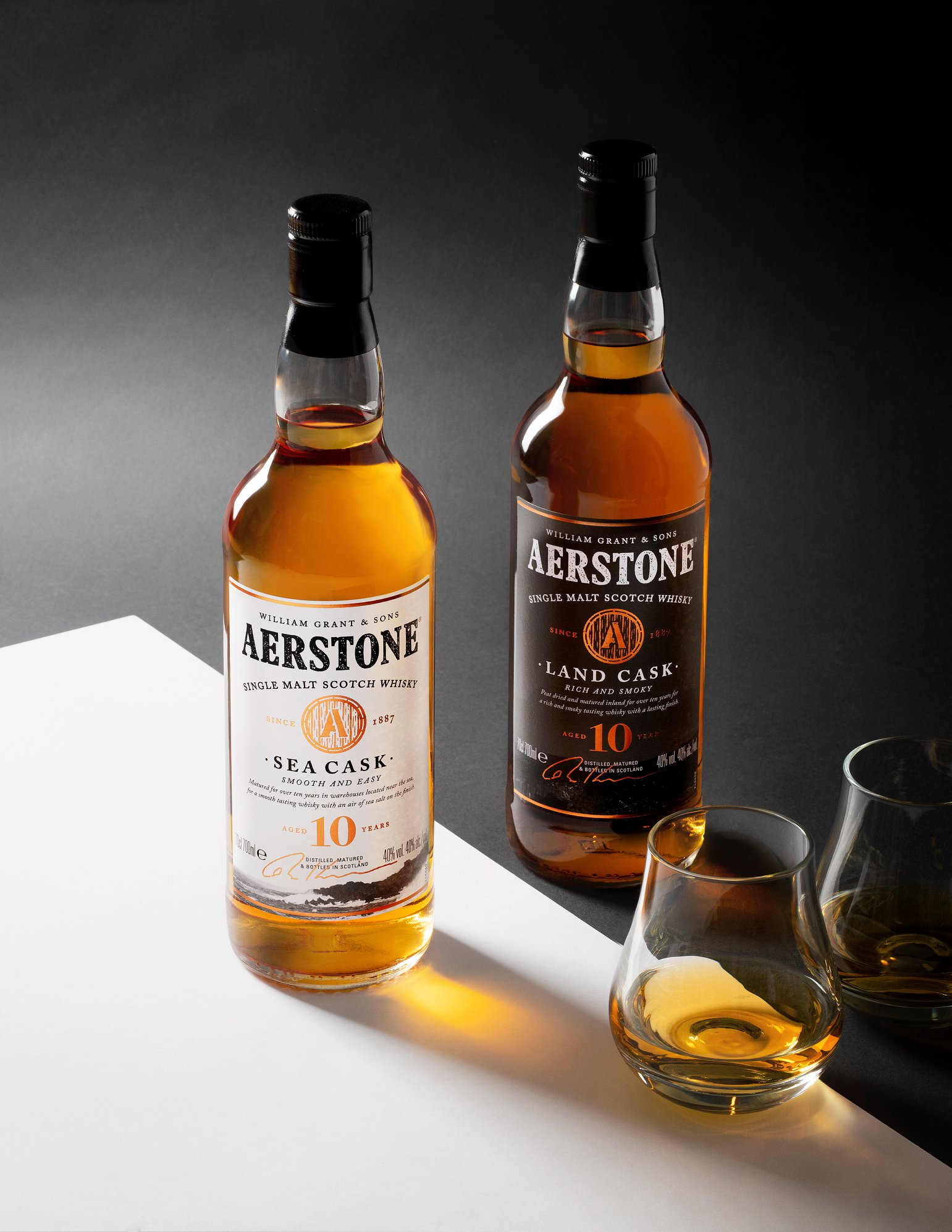 Whisky Aerstone - William Grant & Sons