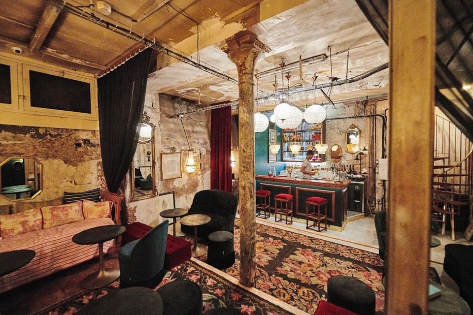 Bar Rehab - Normandy Le Chantier (Machefert) - Paris