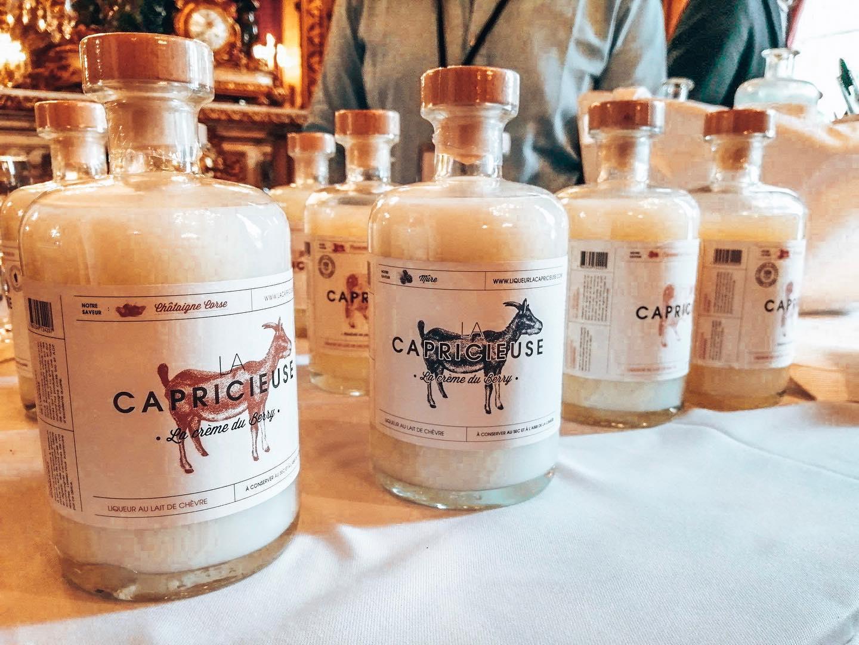 Liqueur au lait de chèvre La capricieuse