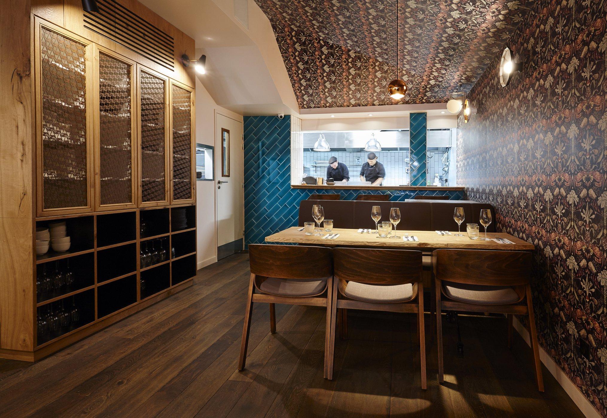 Restaurant Istr Paris : huîtres dans le Marais