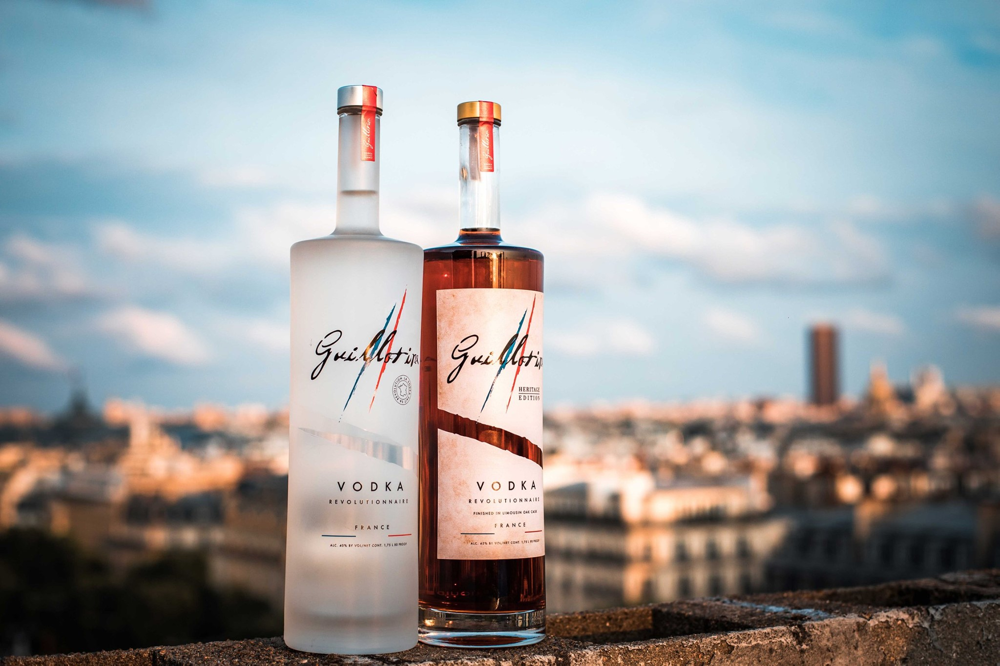 Guillotine Vodka - Packshot