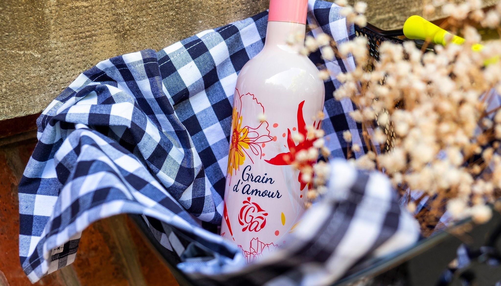 Vin rosé Grain d'amour - Vignerons du Brulhois