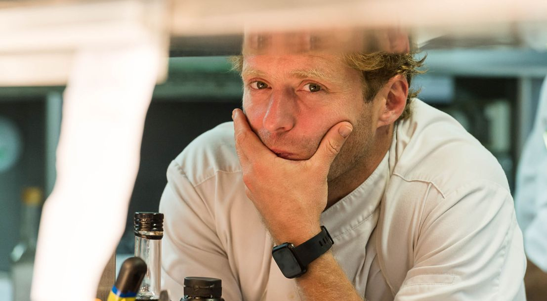 Julien Dumas - Chef cuisinier - Lucas Carton