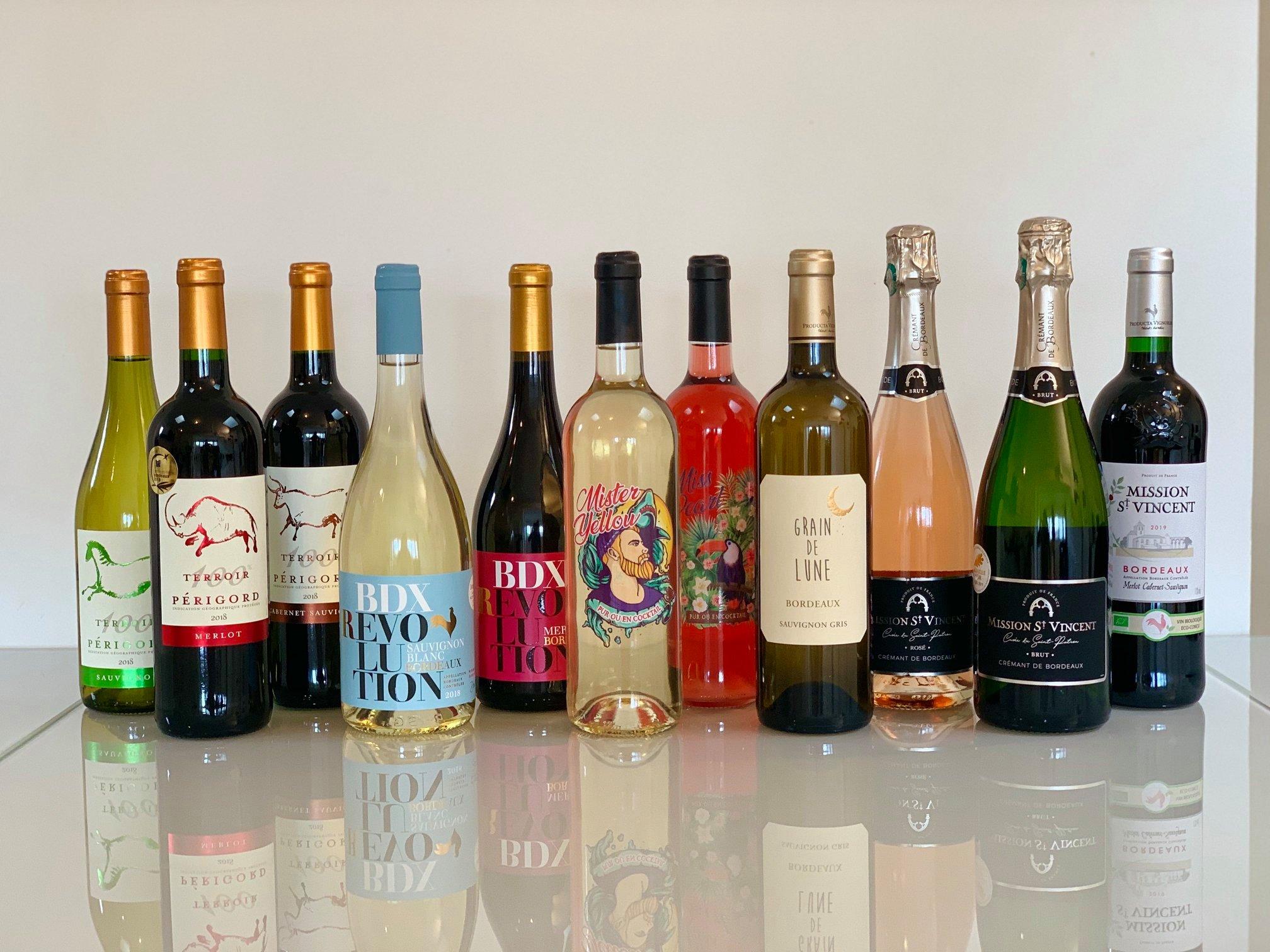 Producta Vignobles - Gamme de vins
