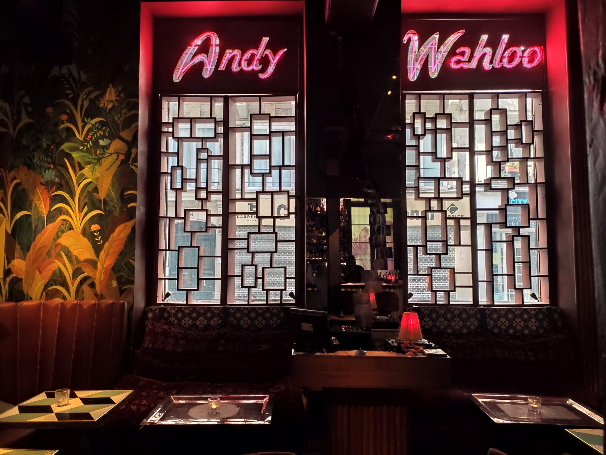 Bar à cocktails Andy Wahloo - Paris