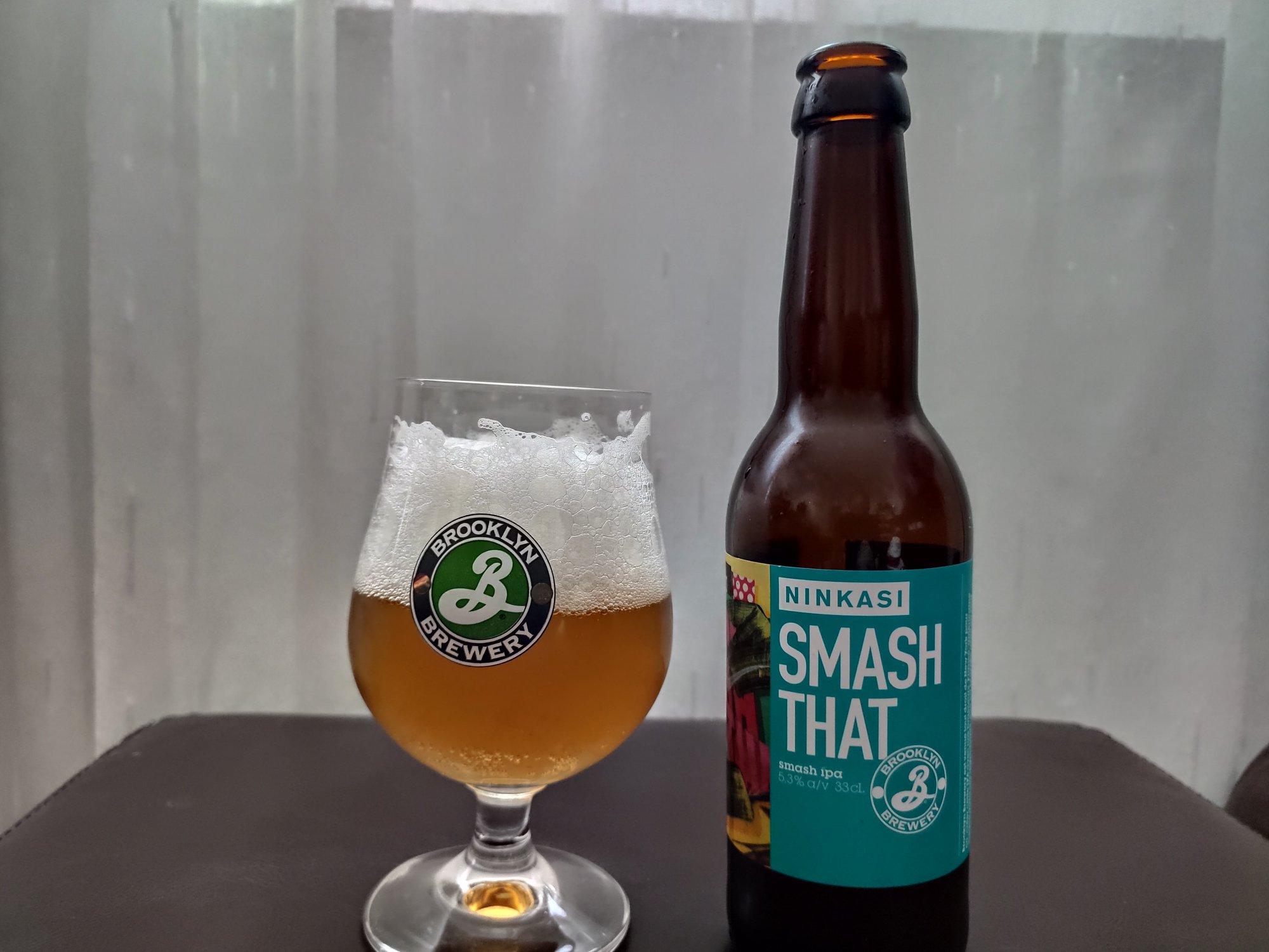 Smash That - Brooklyn Brewery - Ninkasi