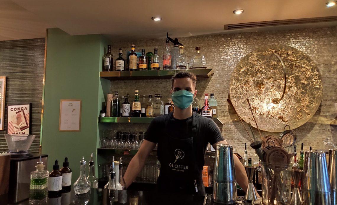 Kévin Compère, chef barman - Le Gloster - Paris