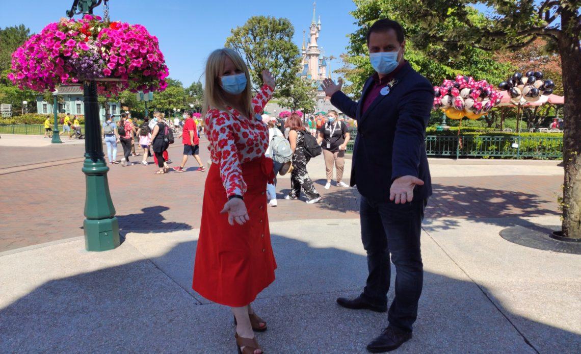 Disneyland Paris - Natasha Rafalski et Giona Prevete
