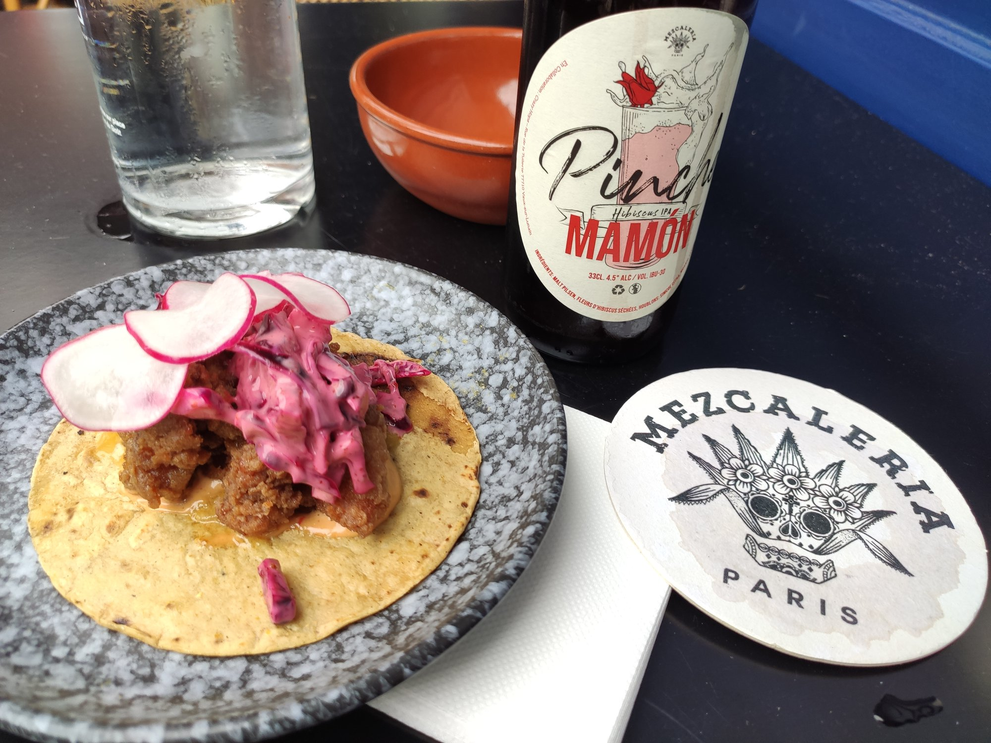La Mezcaleria Paris - Bière et tacos