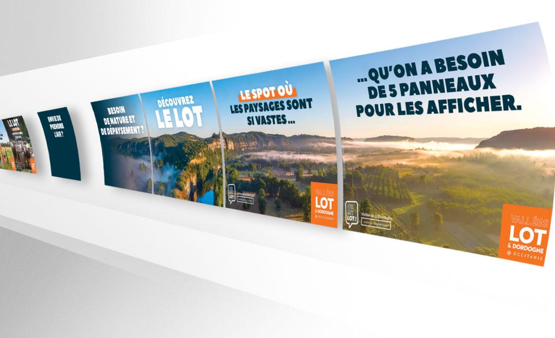 Lot : département affichage urbain