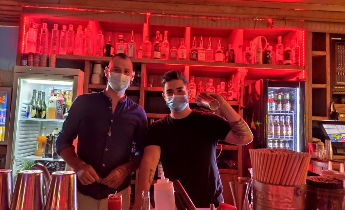 Vincent Lussot et Quentin Dulac - The 7TH Heaven - Bar rooftop Fréjus