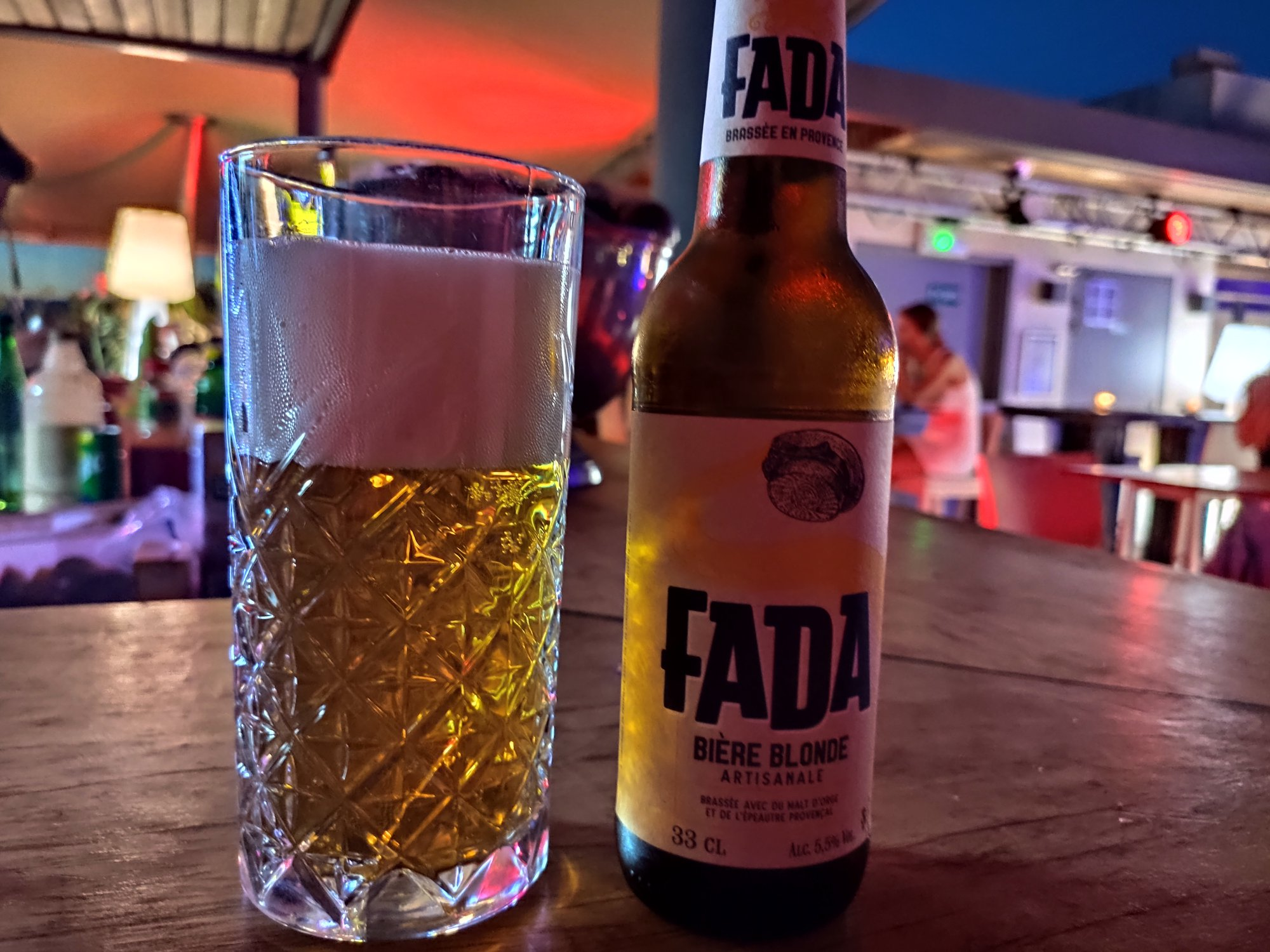 Bière Fada - Blonde - Provence - Brasserie du Castellet (Var)