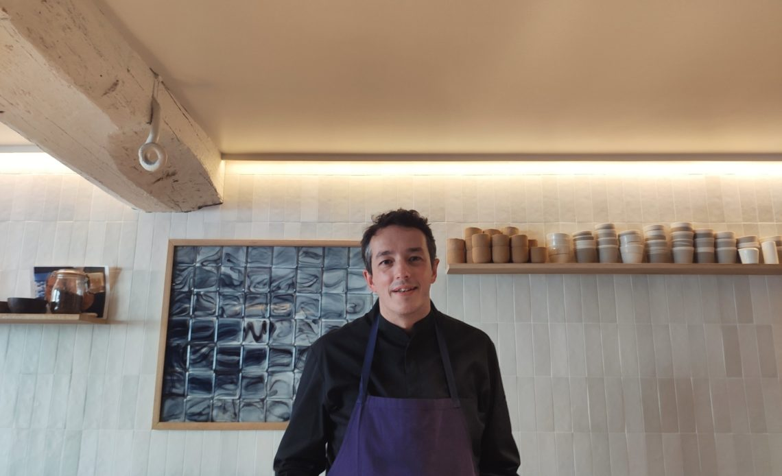 Sylvain Sendra, chef, Fleur de Pavé, Paris