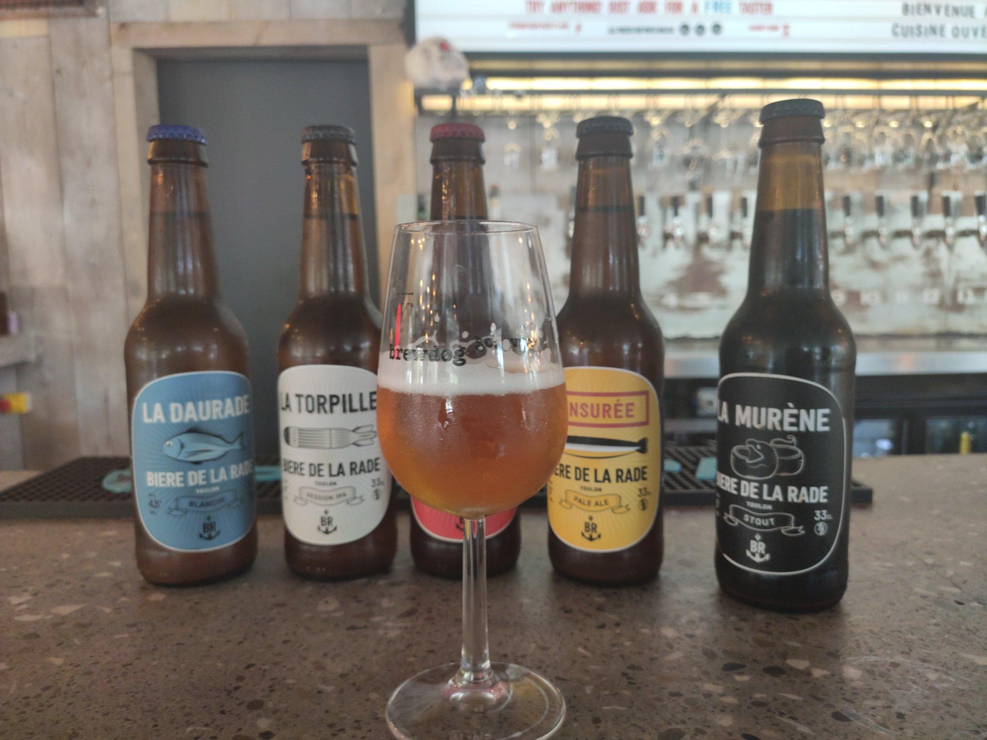 Bière de la Rade (Toulon) - BrewDog Nice