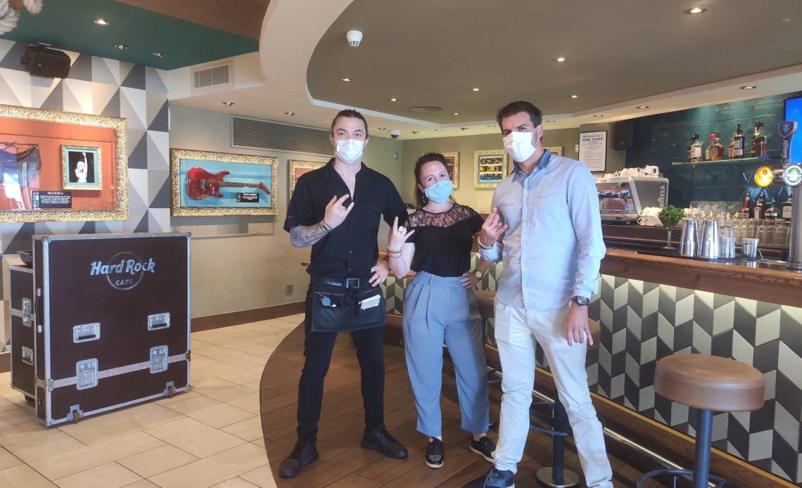 Hard Rock Cafe Nice - Equipe