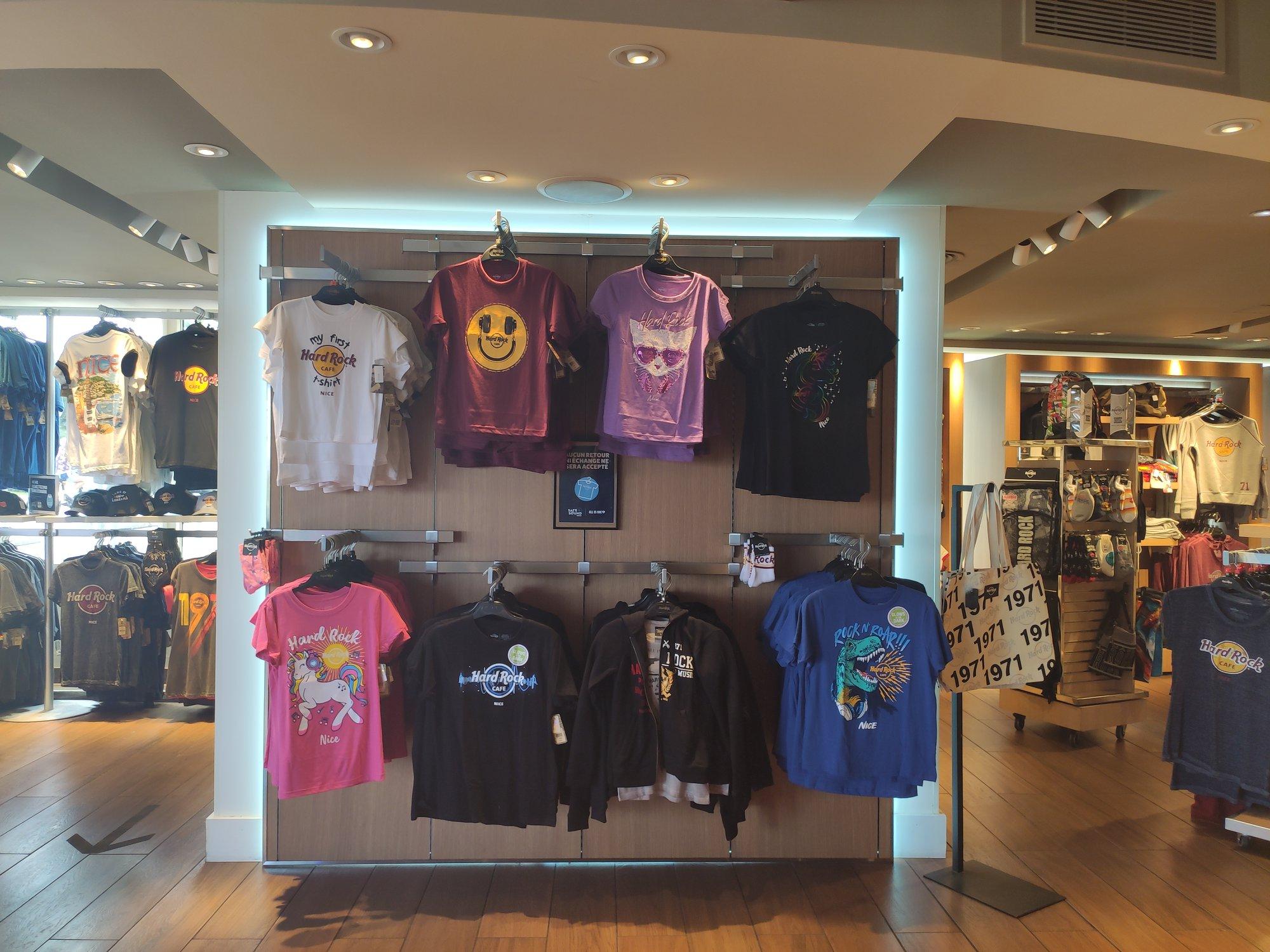 Hard Rock Cafe Nice - Nouveau shop