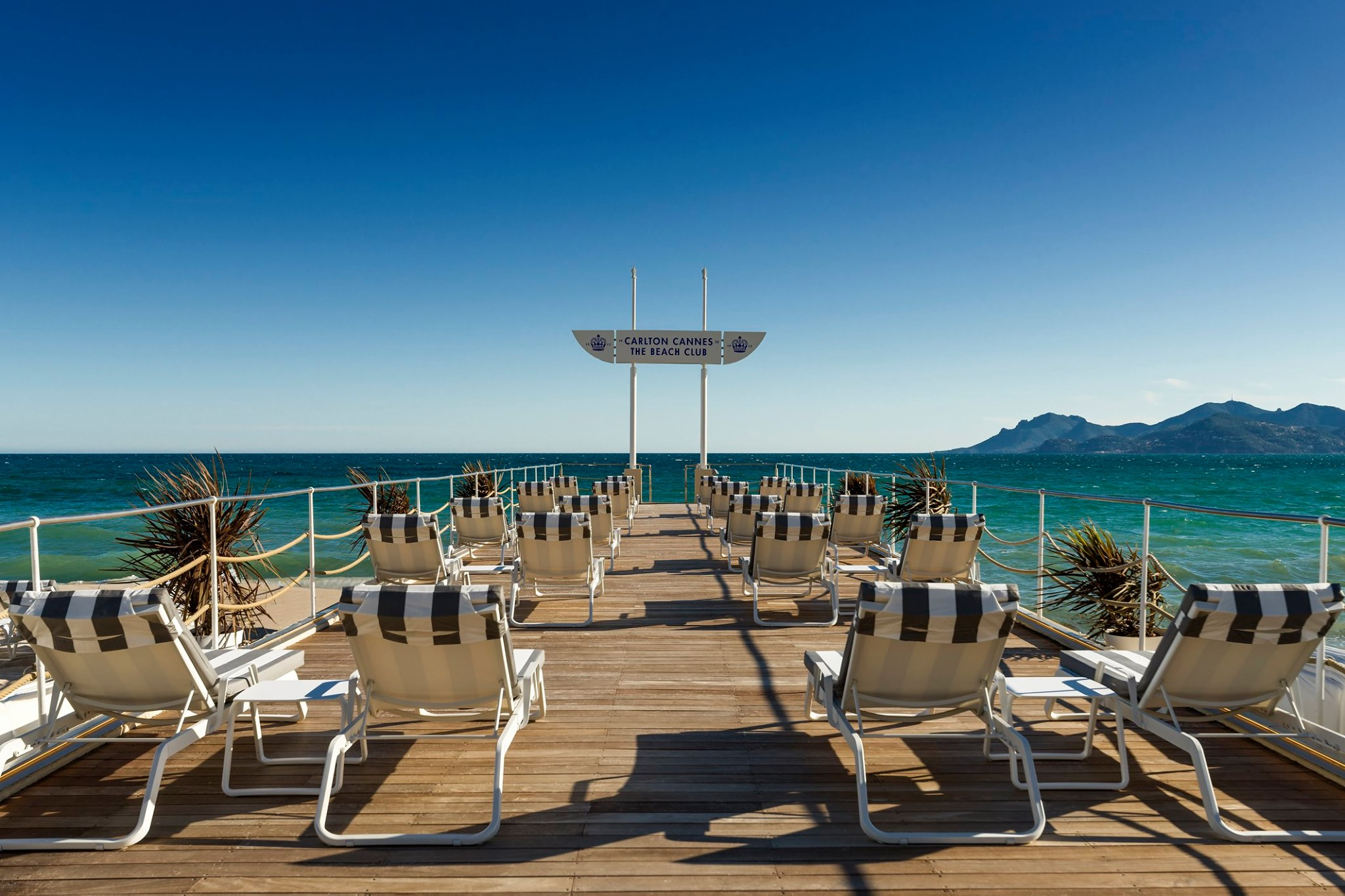 Plage du Carlton Beach Club - Concept 2020 - Photo : Roméo Balancourt