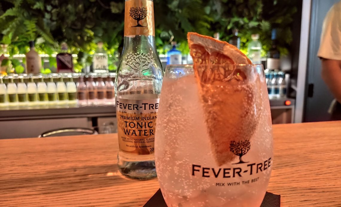 Fever-Tree - Pop-up store et cocktail