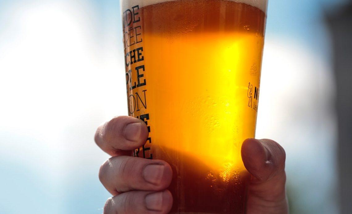 Pinte de bière IPA - Ninkasi