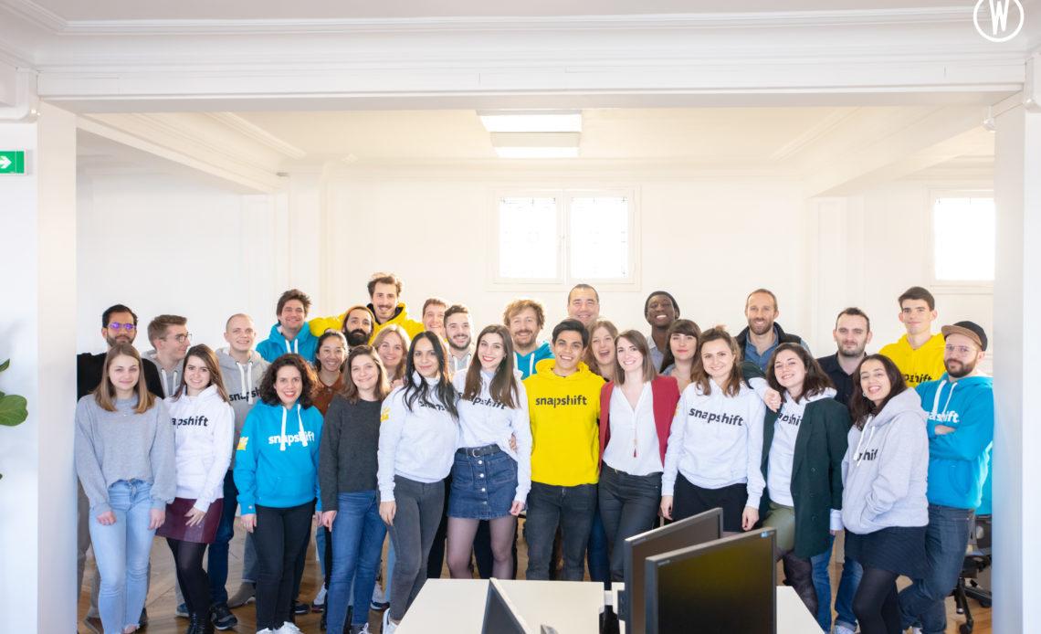 Equipe de la start-up Snapshift - Planning restaurants